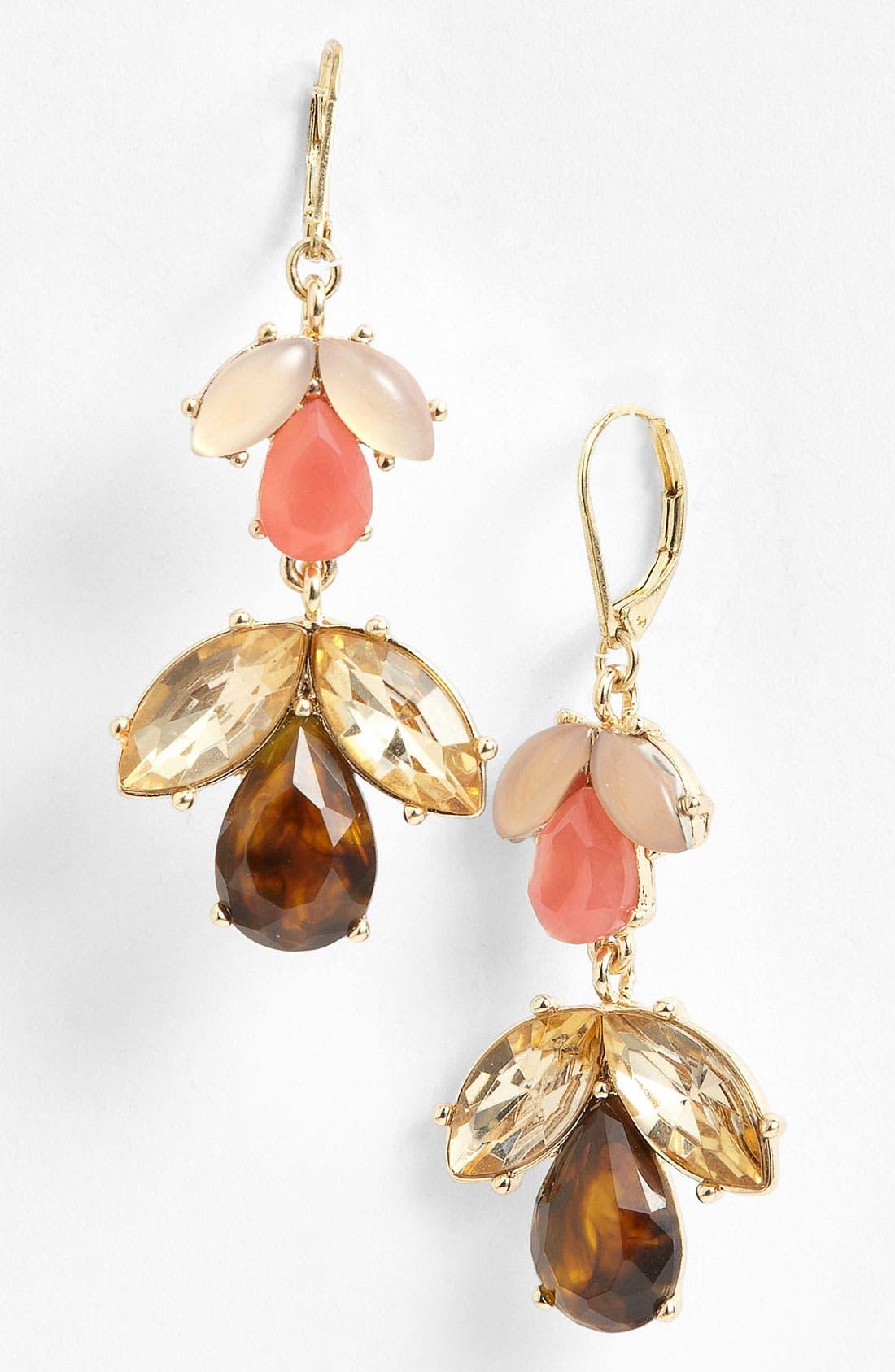 Alternate Image 1 Selected - Anne Klein Drop Earrings