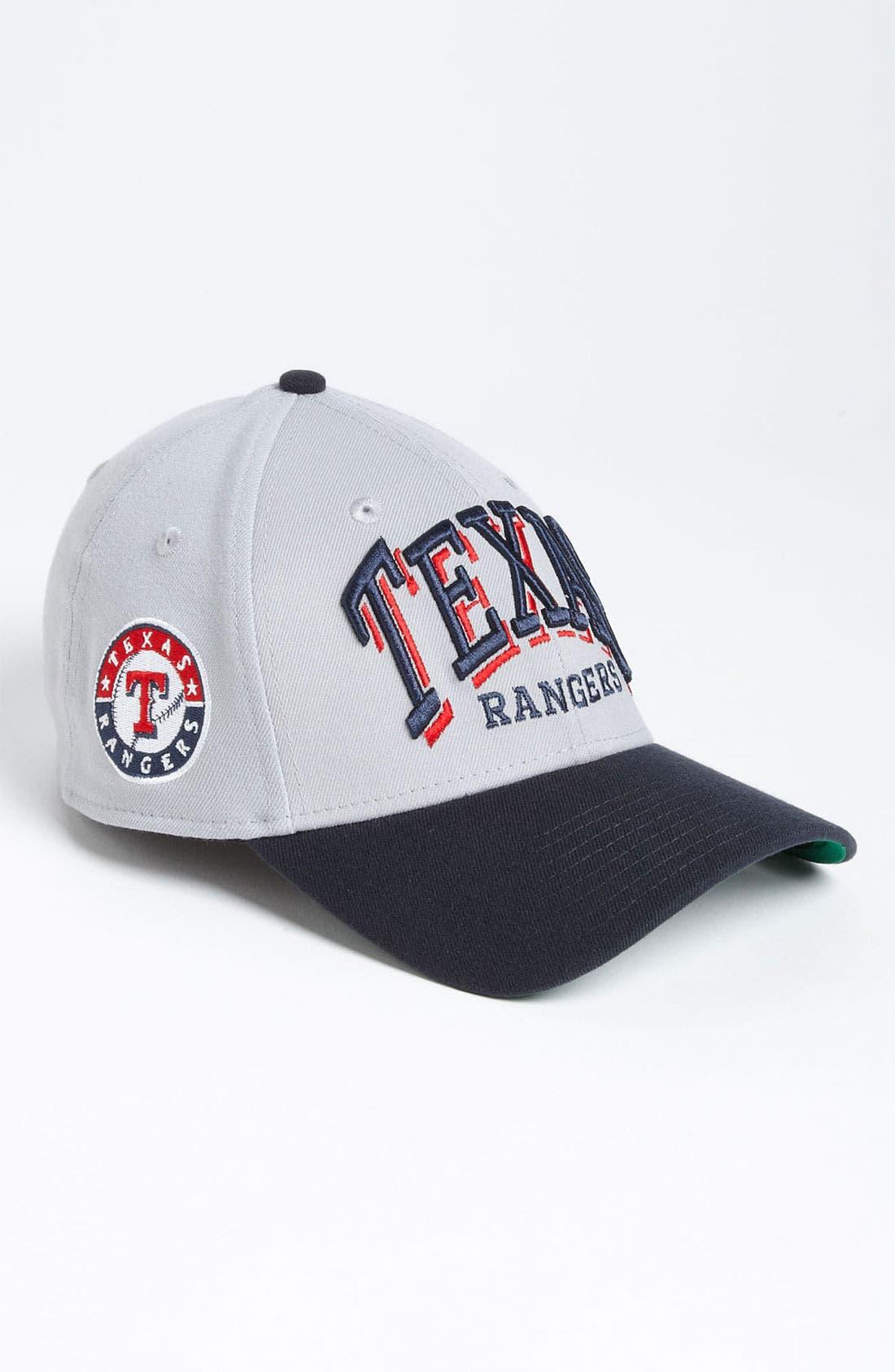 Alternate Image 2  - New Era Cap 'Texas Rangers - Arch Mark' Fitted Baseball Cap