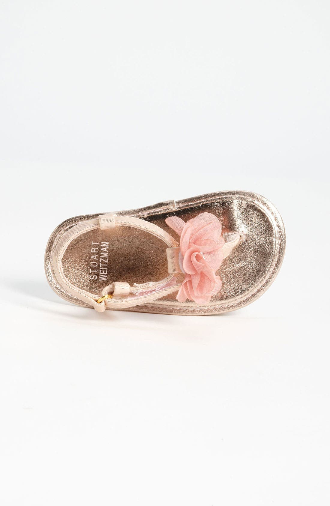 Alternate Image 3  - Stuart Weitzman 'Baby Silk' Sandal (Baby)