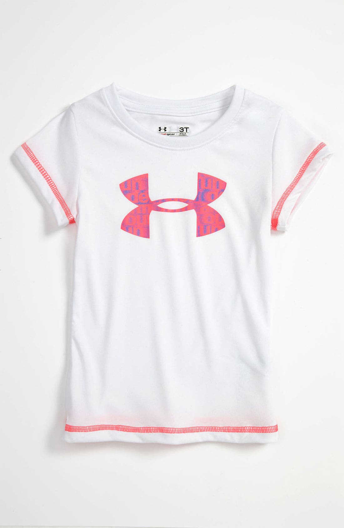 Alternate Image 1 Selected - Under Armour Tee (Toddler)