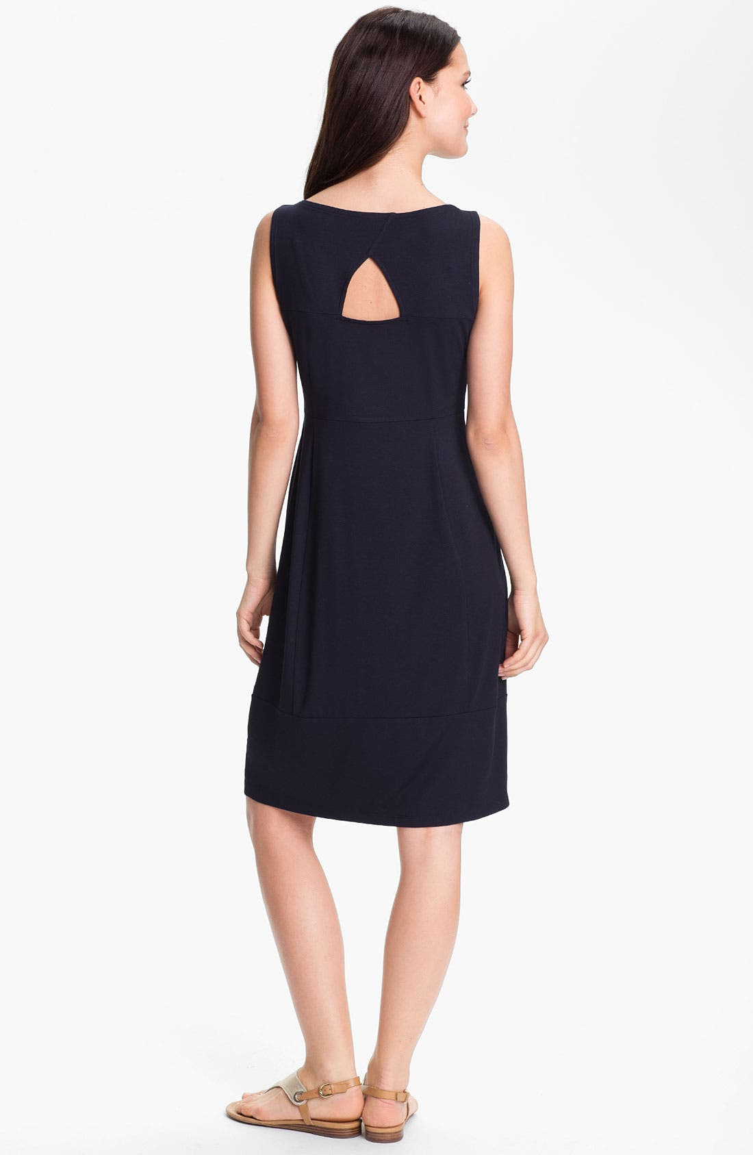 Alternate Image 2  - Eileen Fisher Cutout Sleeveless Dress
