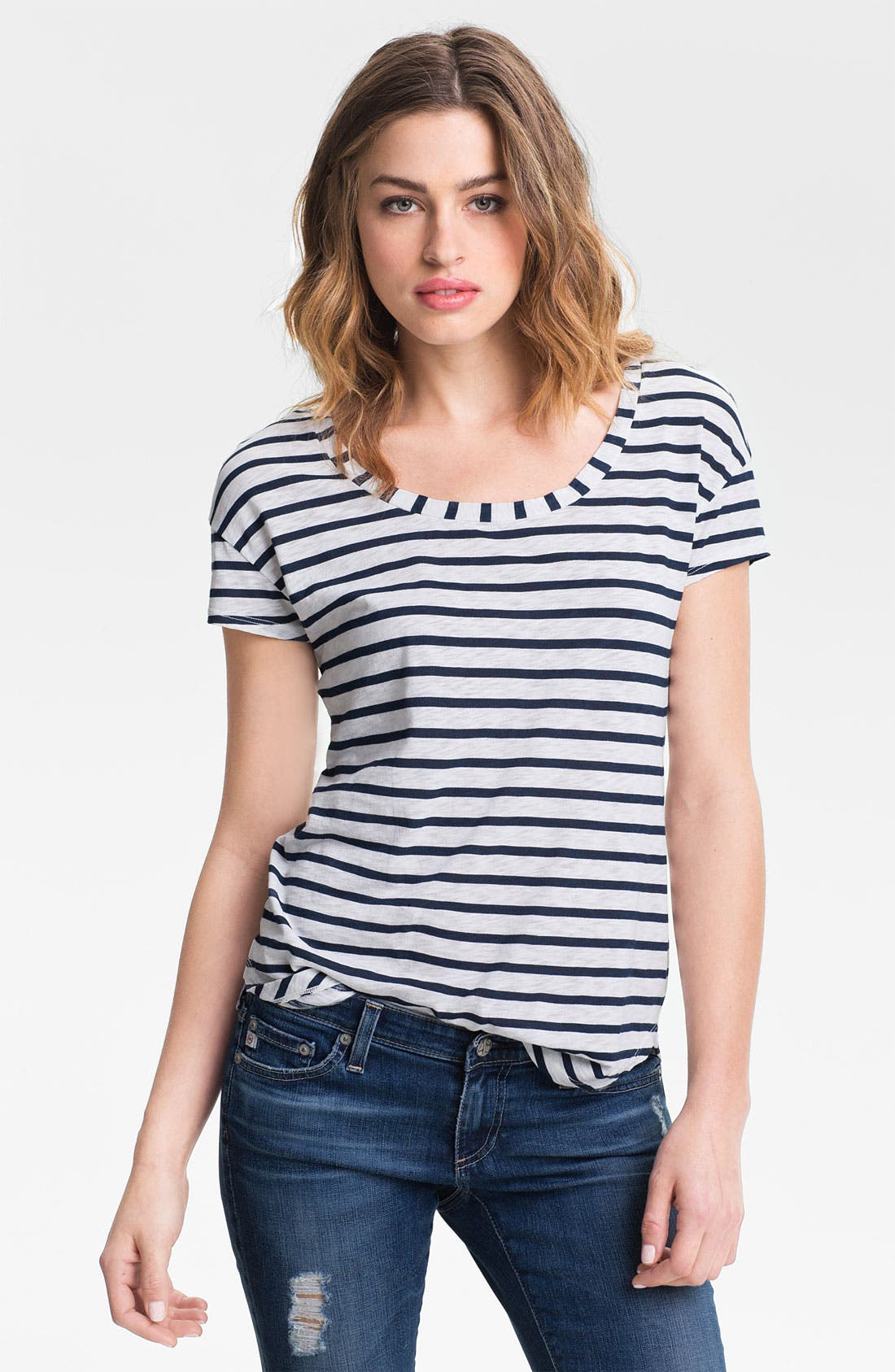 Alternate Image 1 Selected - Splendid 'Miami' Stripe Tee