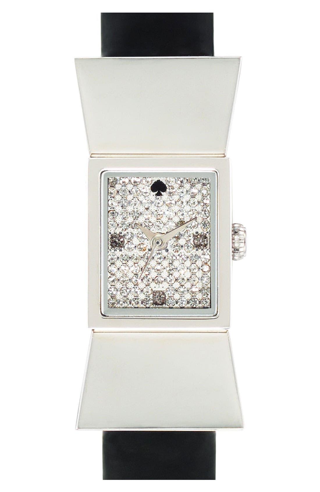 Main Image - kate spade new york 'carlyle' pavé dial watch