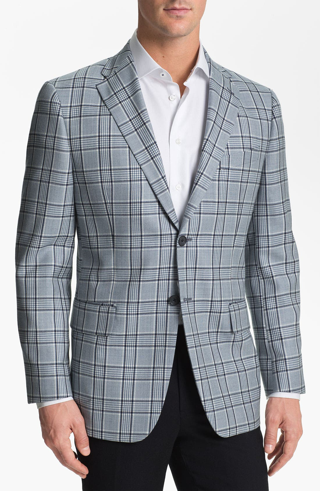 Alternate Image 1 Selected - Joseph Abboud Plaid Sportcoat