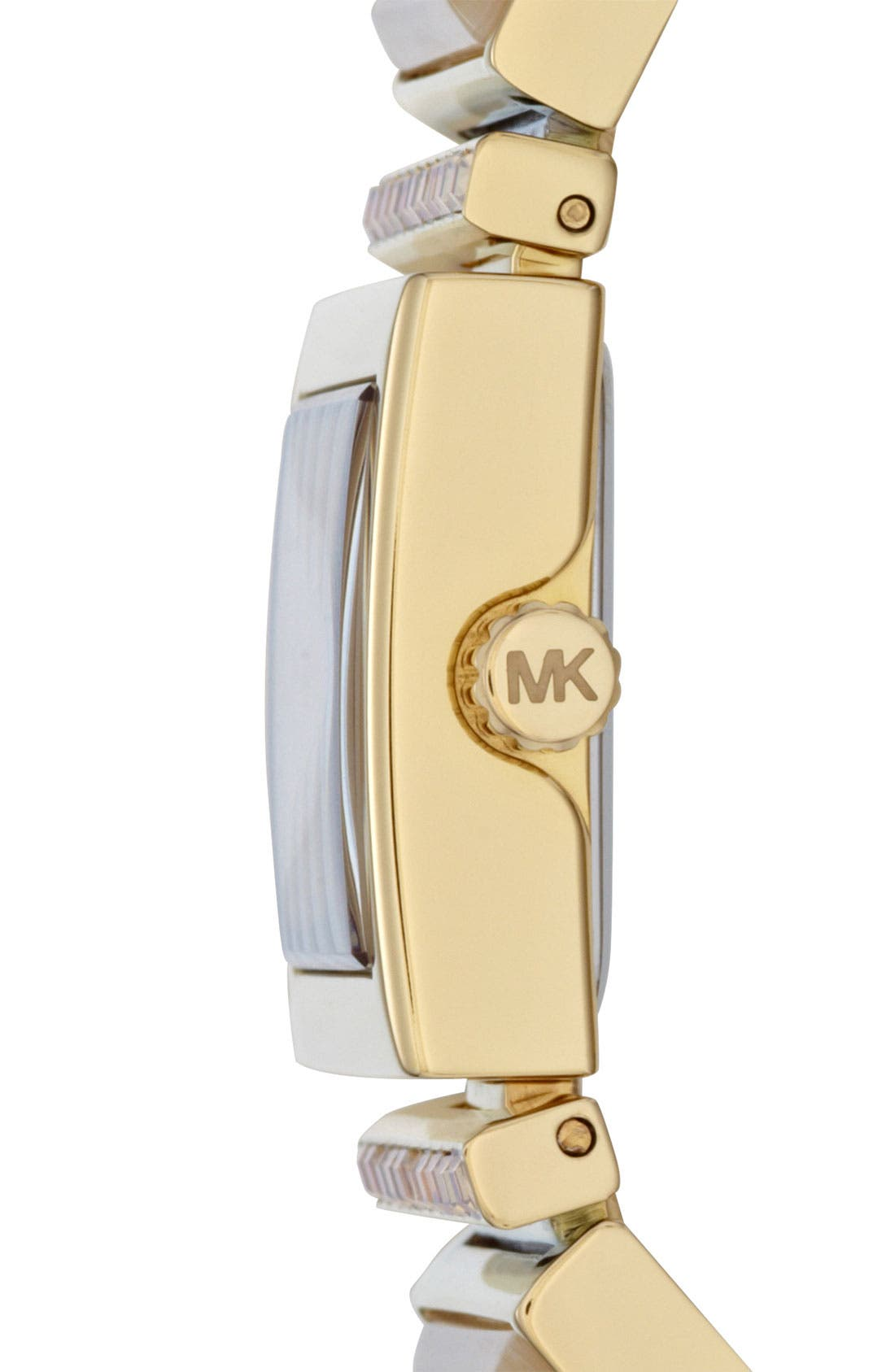 Alternate Image 2  - Michael Kors 'Erin' Baguette Stone Bracelet Watch
