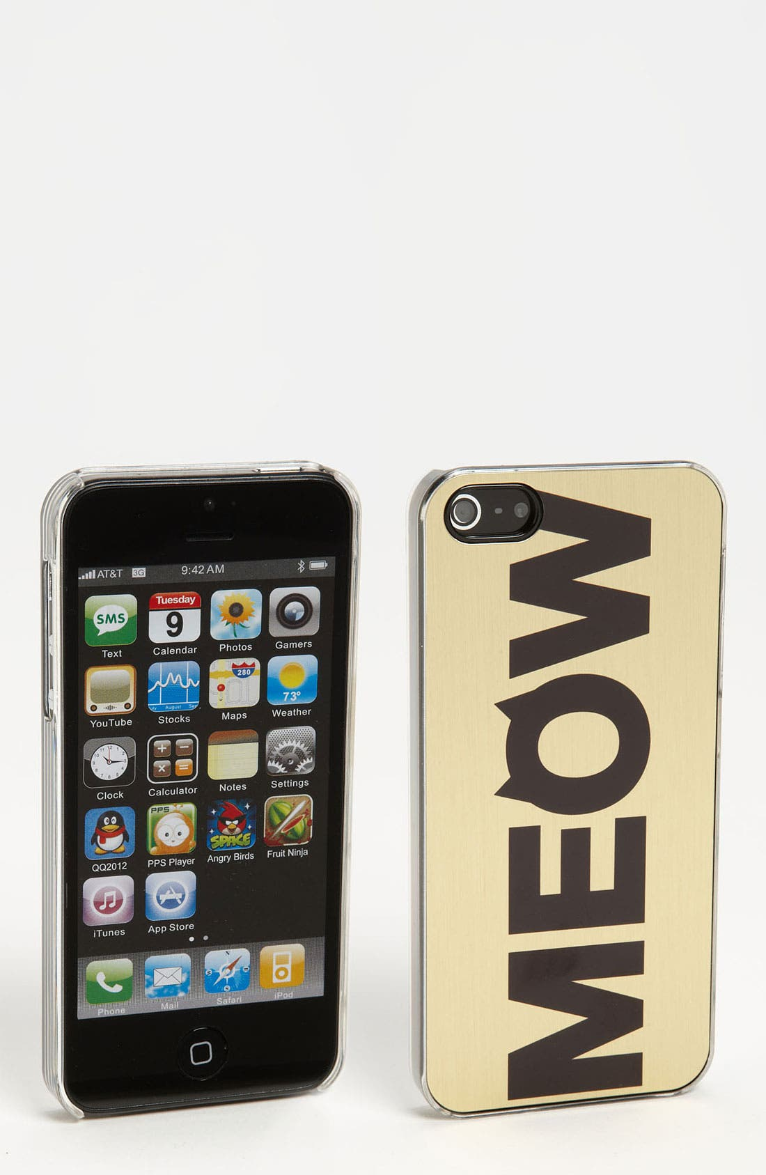 Alternate Image 1 Selected - ZERO GRAVITY 'Cat Call' iPhone 5 Case
