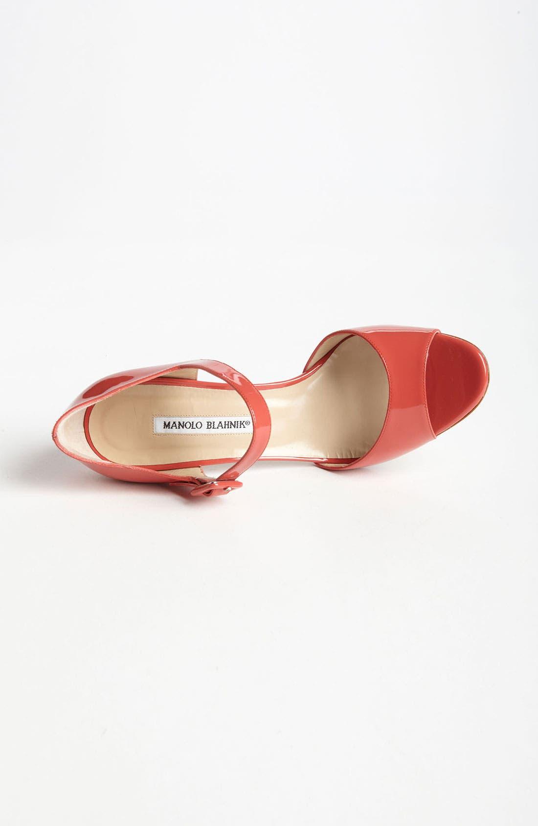 Alternate Image 3  - Manolo Blahnik 'Caldo' Sandal