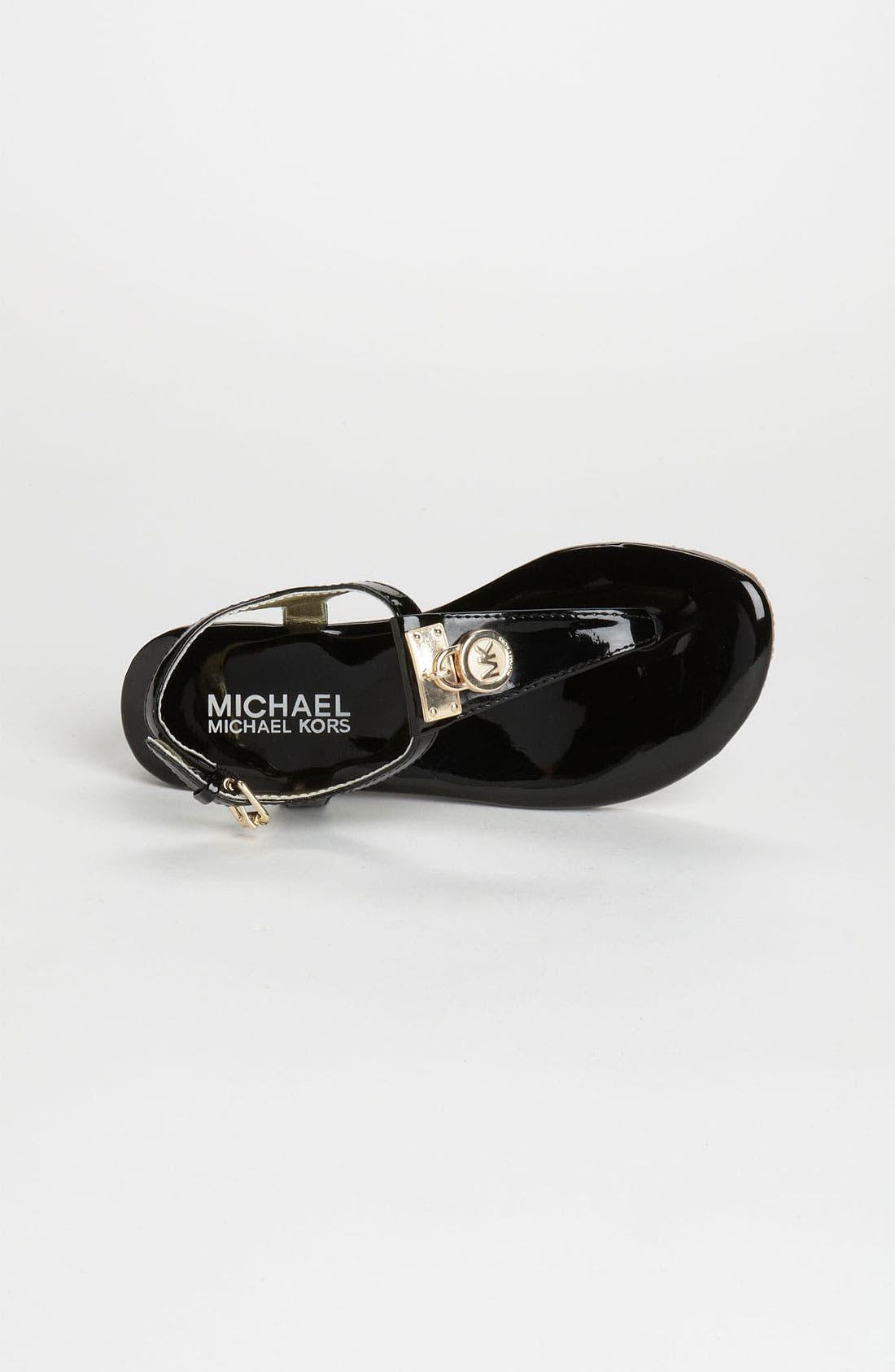 Alternate Image 3  - MICHAEL Michael Kors 'Hamilton' Sandal (Little Kid & Big Kid)
