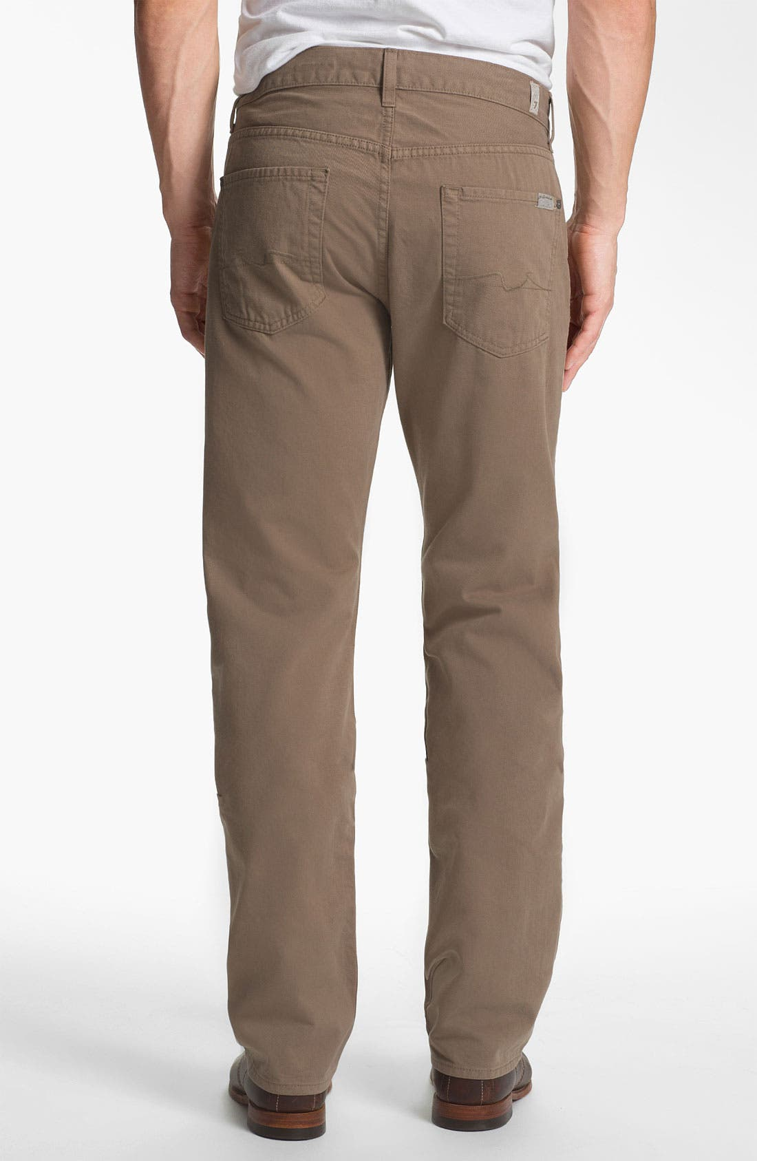 Main Image - 7 For All Mankind® 'Carsen' Straight Leg Pants
