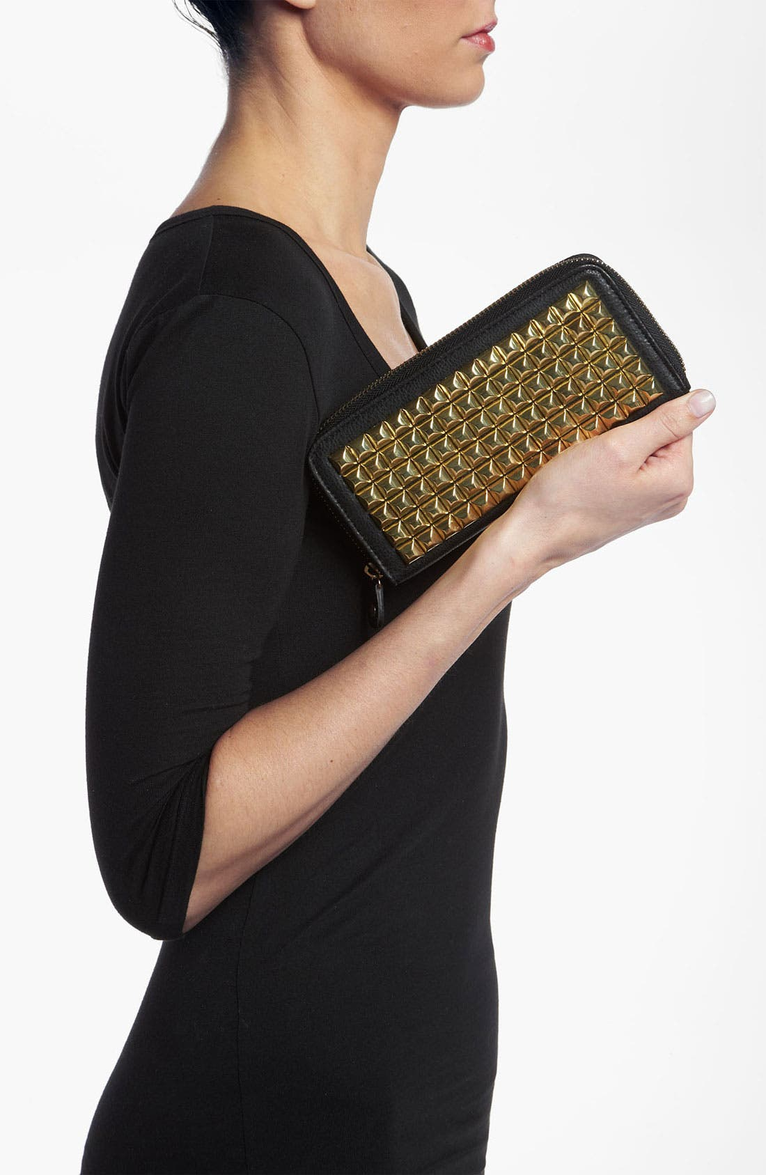 Alternate Image 2  - Under One Sky Studded Wallet Clutch