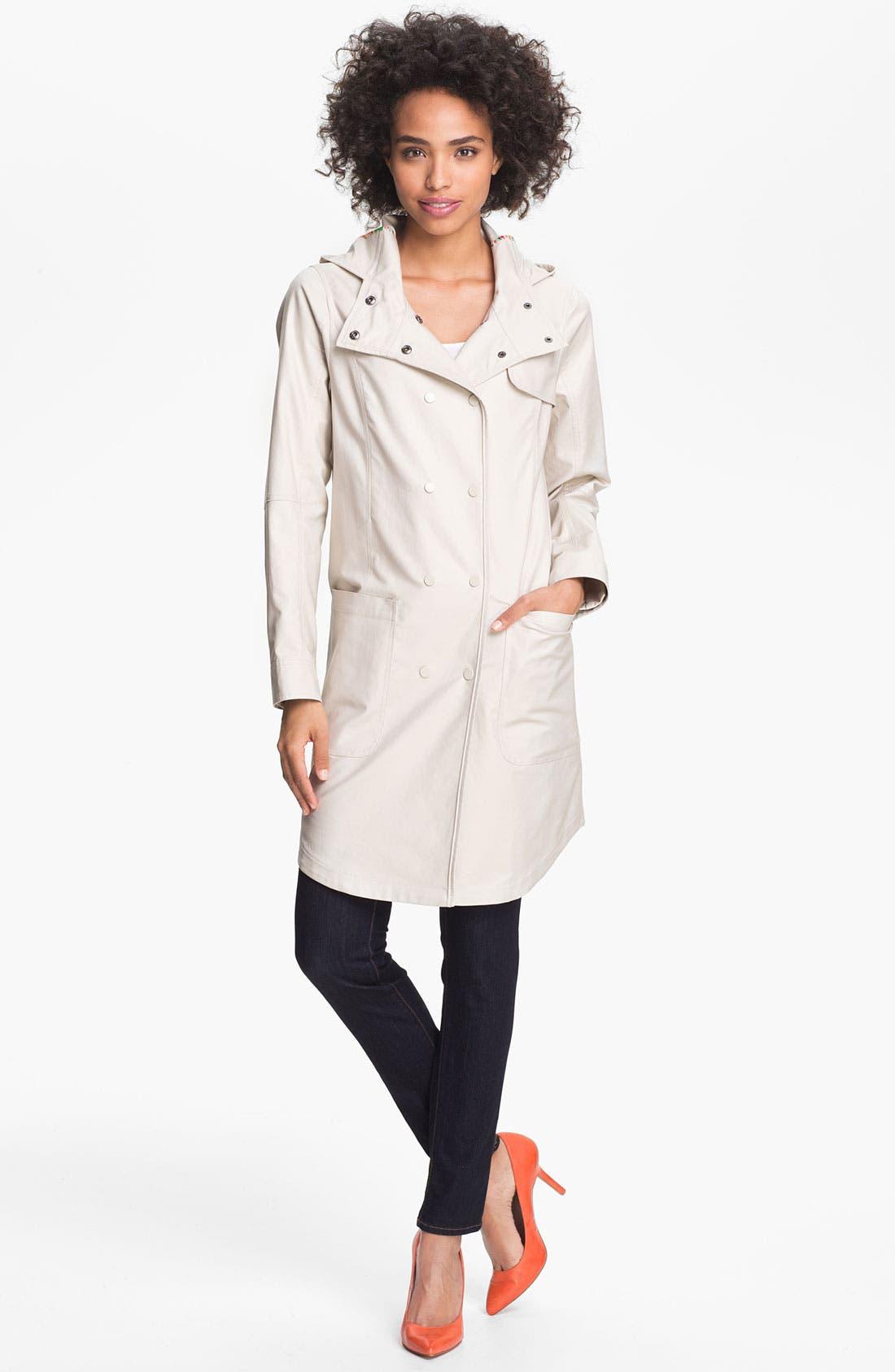Main Image - Trina Turk 'Marcia' Mackintosh Coat