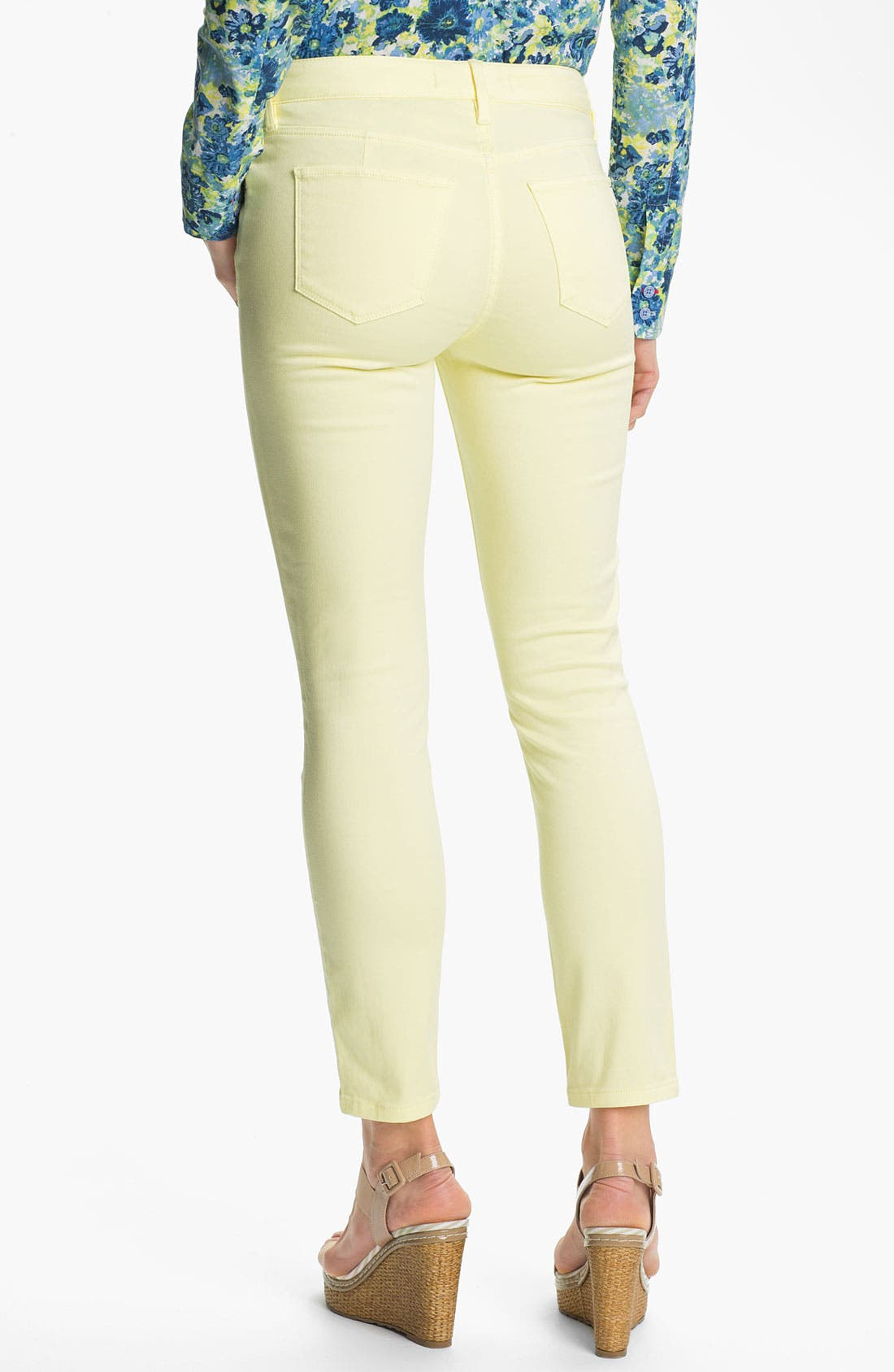 Alternate Image 2  - Isaac Mizrahi Jeans Colored Skinny Jeans