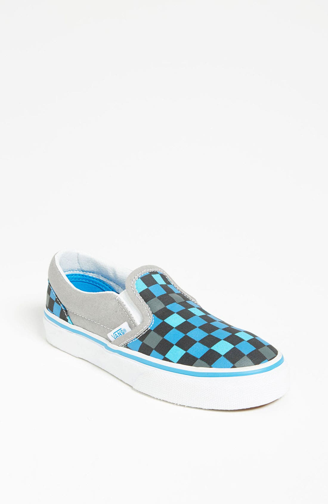 Alternate Image 1 Selected - Vans 'Multi Check' Slip-On (Walker, Toddler, Little Kid & Big Kid)