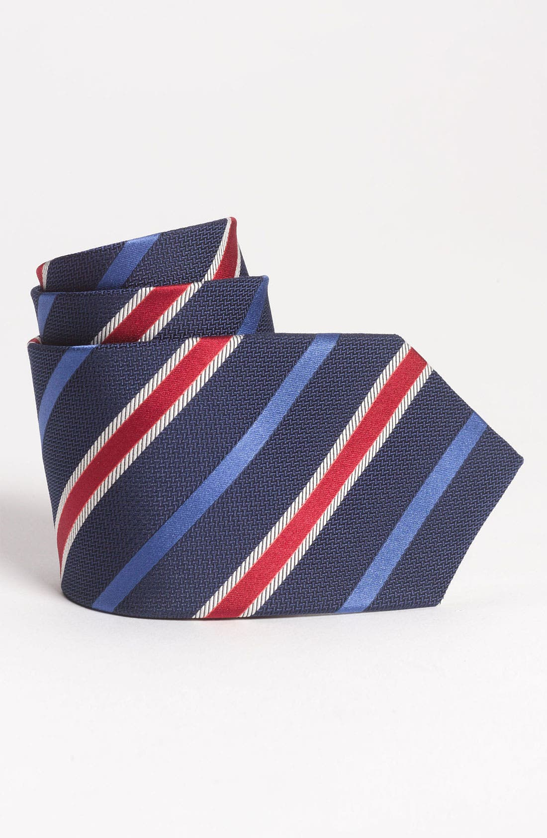 Main Image - Brooks Brothers Woven Silk Tie (Big Boys)