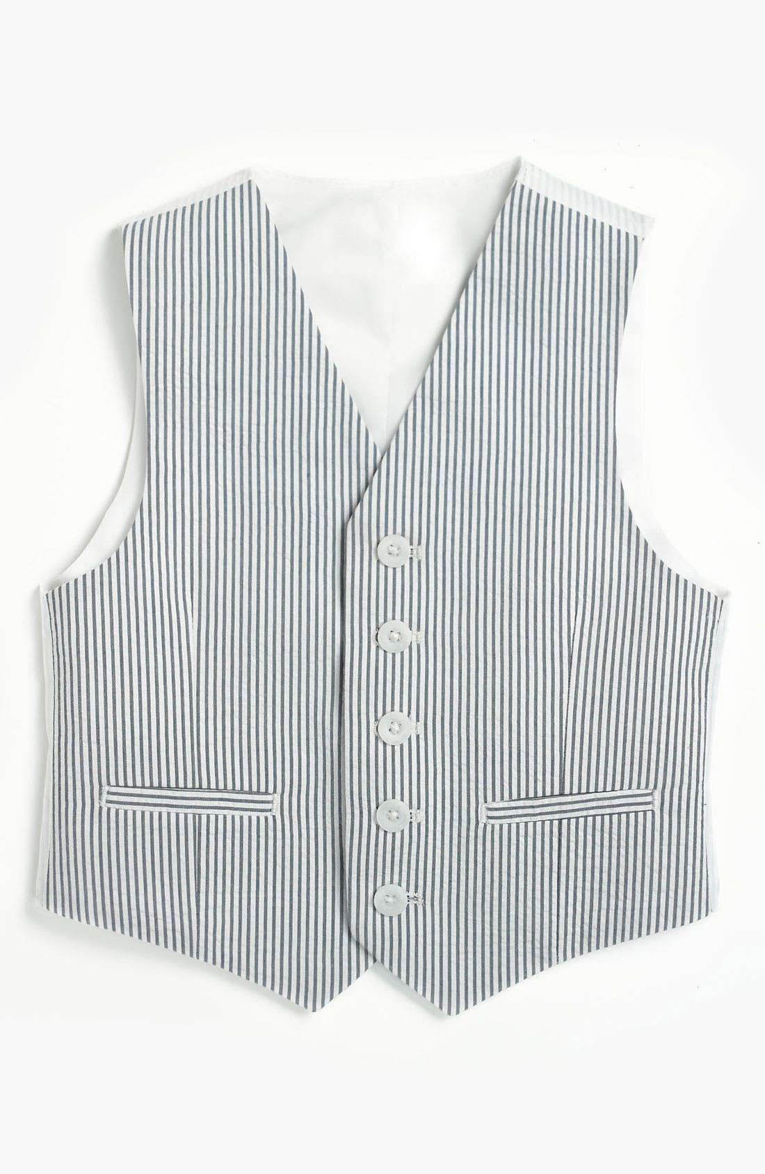 Alternate Image 1 Selected - Nordstrom 'Andrew' Vest (Little Boys & Big Boys)