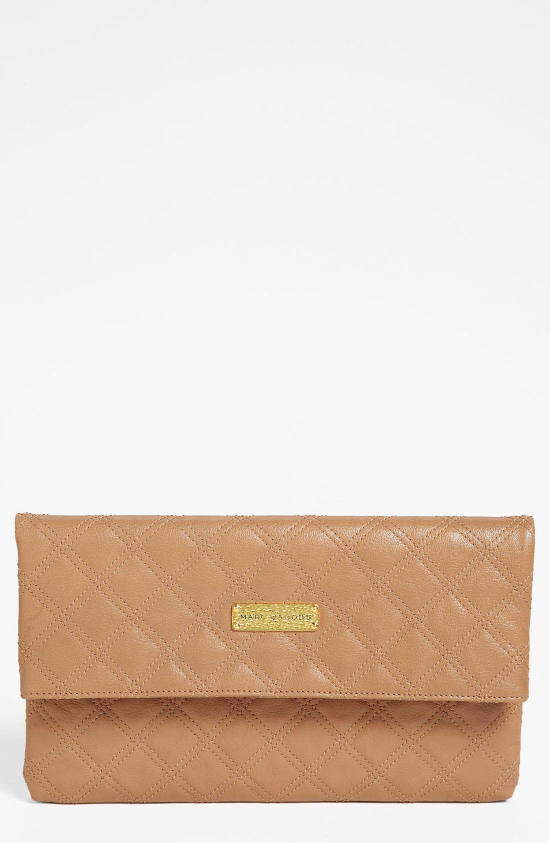 Main Image - MARC JACOBS 'Large Baroque Eugenie' Leather Clutch