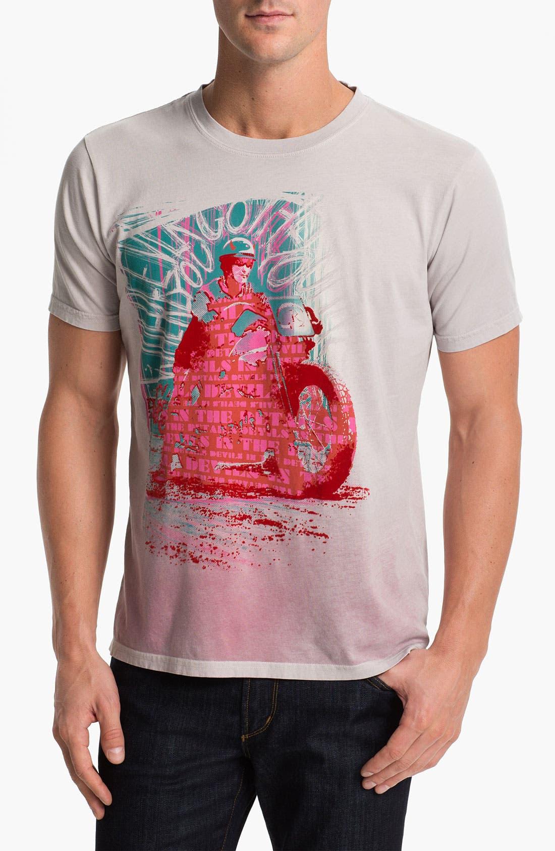 Alternate Image 1 Selected - Robert Graham 'Details' T-Shirt