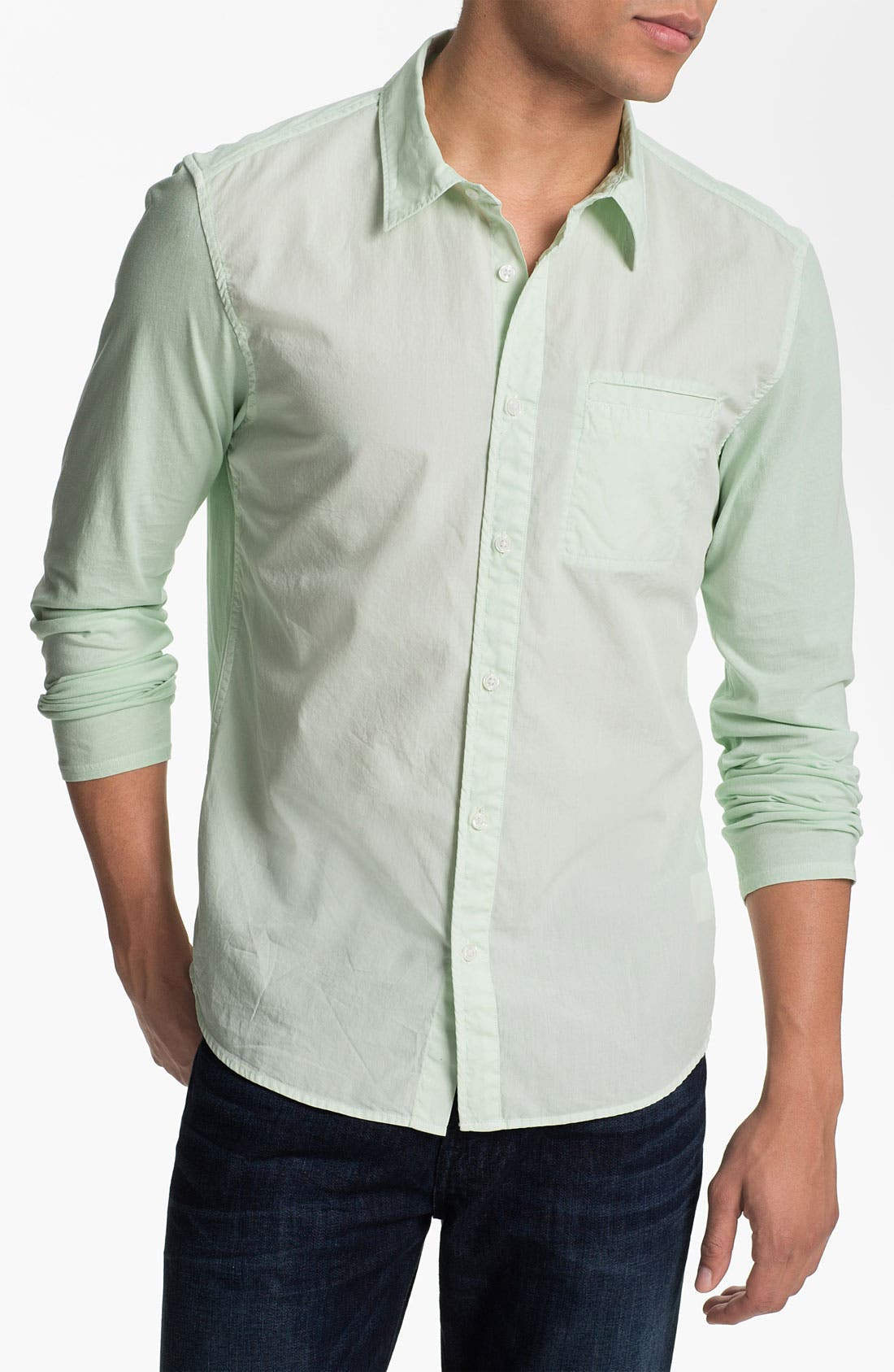 Alternate Image 1 Selected - Edun Woven Shirt