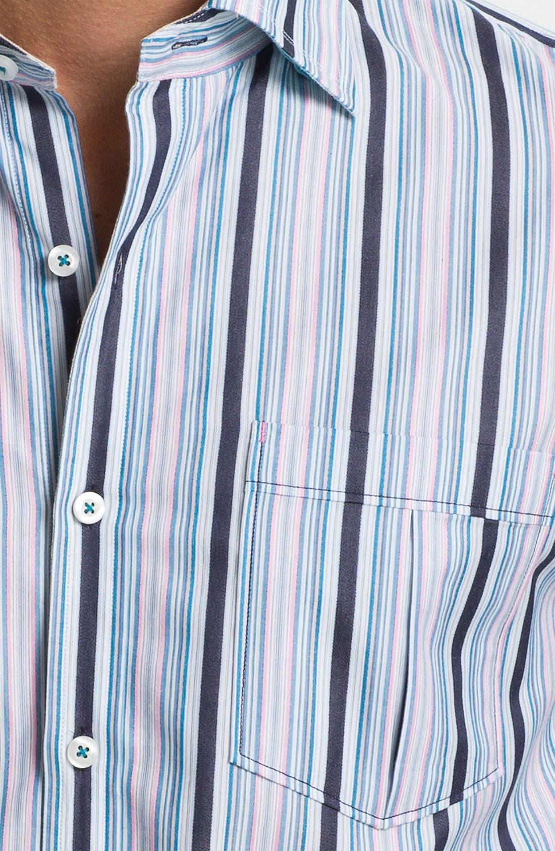 Alternate Image 3  - Tommy Bahama 'Stripe del Sol' Sport Shirt