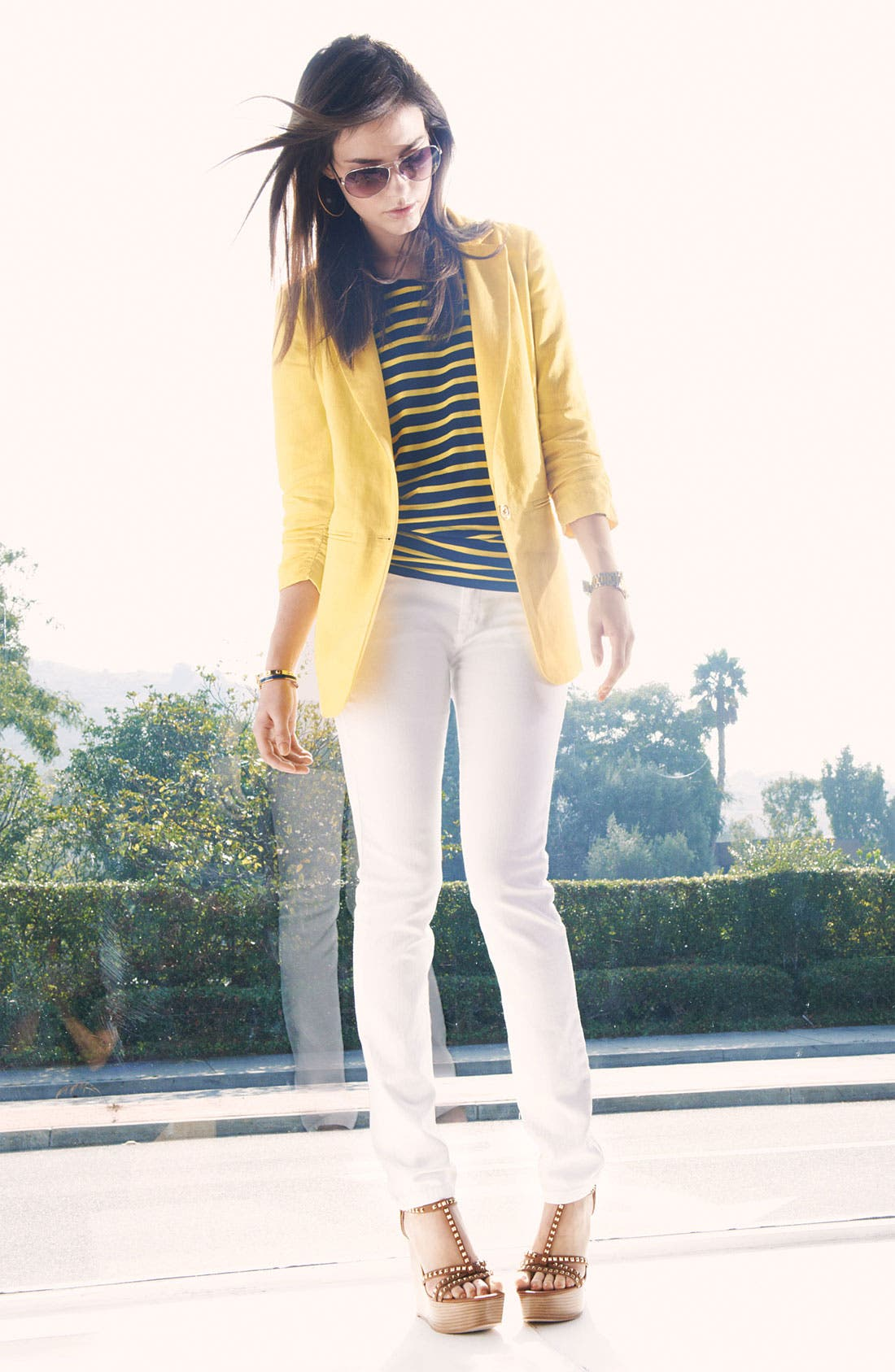 Alternate Image 2  - MICHAEL Michael Kors Jacket, Top, Pants & Accessories