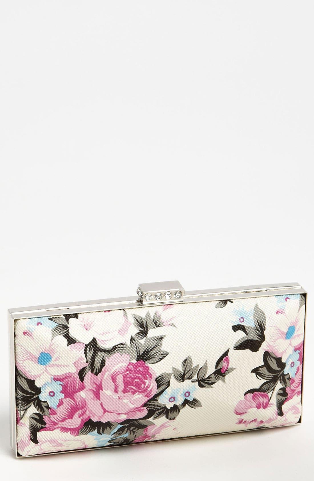Main Image - Tasha Flower Box Clutch