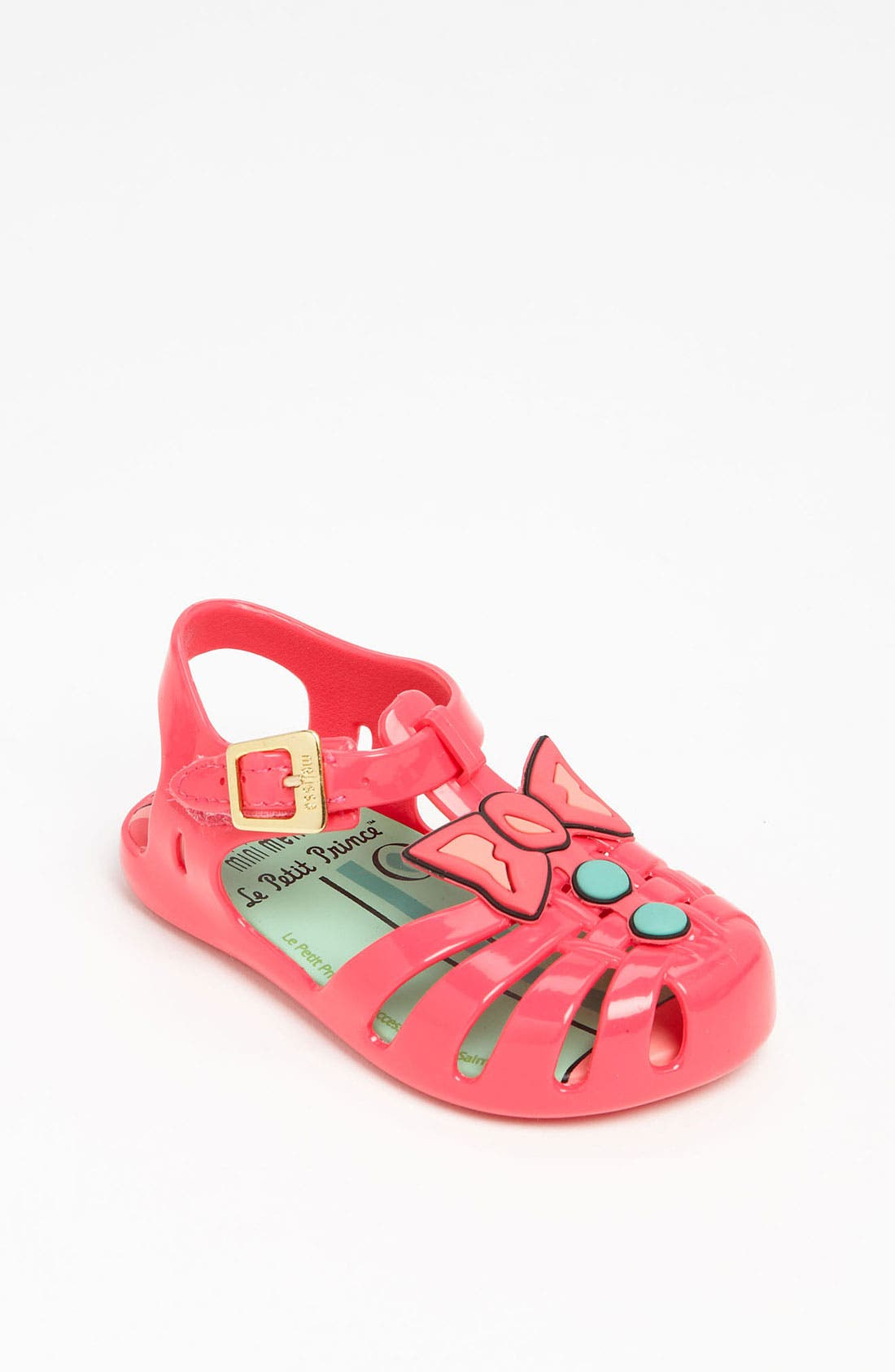 Alternate Image 1 Selected - Mini Melissa 'Little Prince' Slip-On (Walker & Toddler)