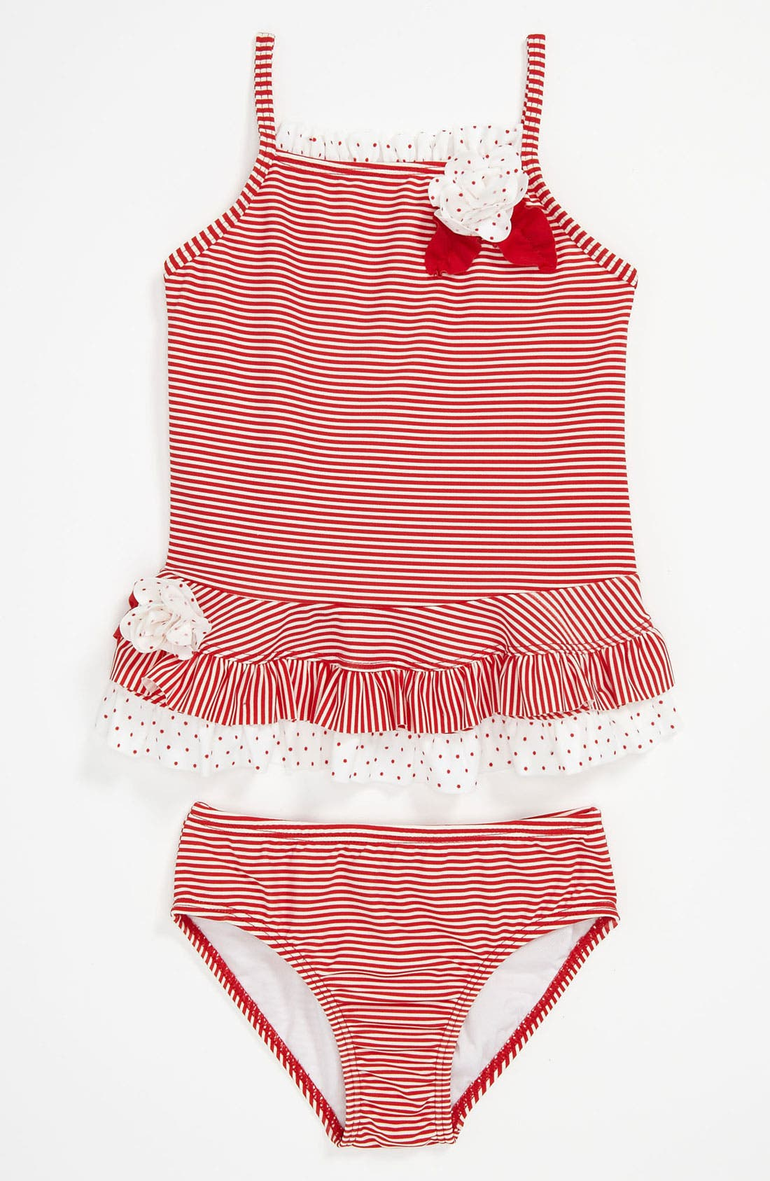 Alternate Image 1 Selected - Kate Mack Two Piece Swimsuit (Toddler)