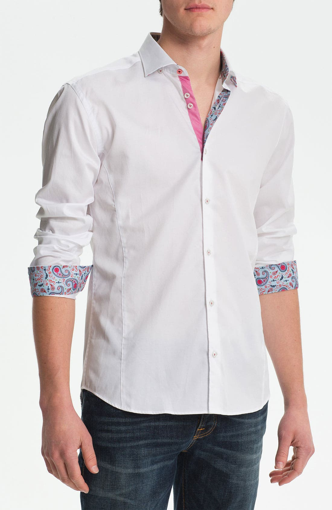 Alternate Image 1 Selected - Stone Rose Woven Shirt