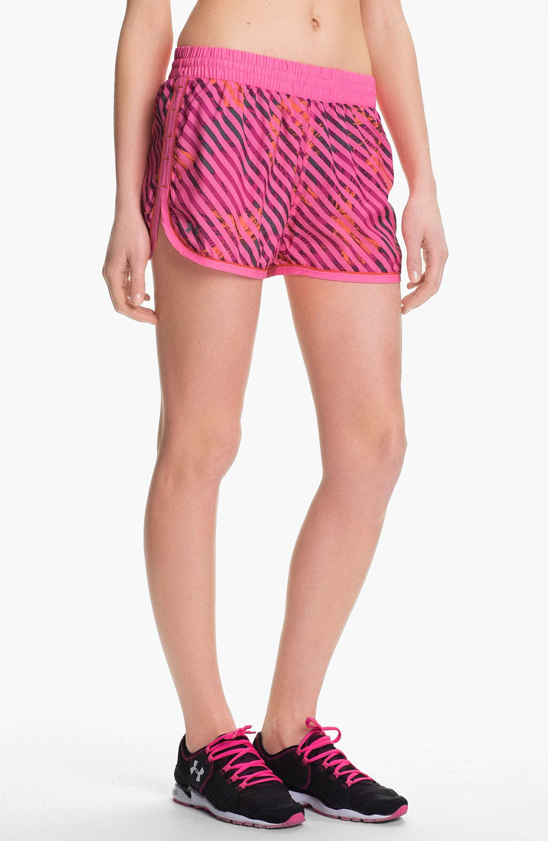 Main Image - Under Armour 'Great Escape' Print Running Shorts