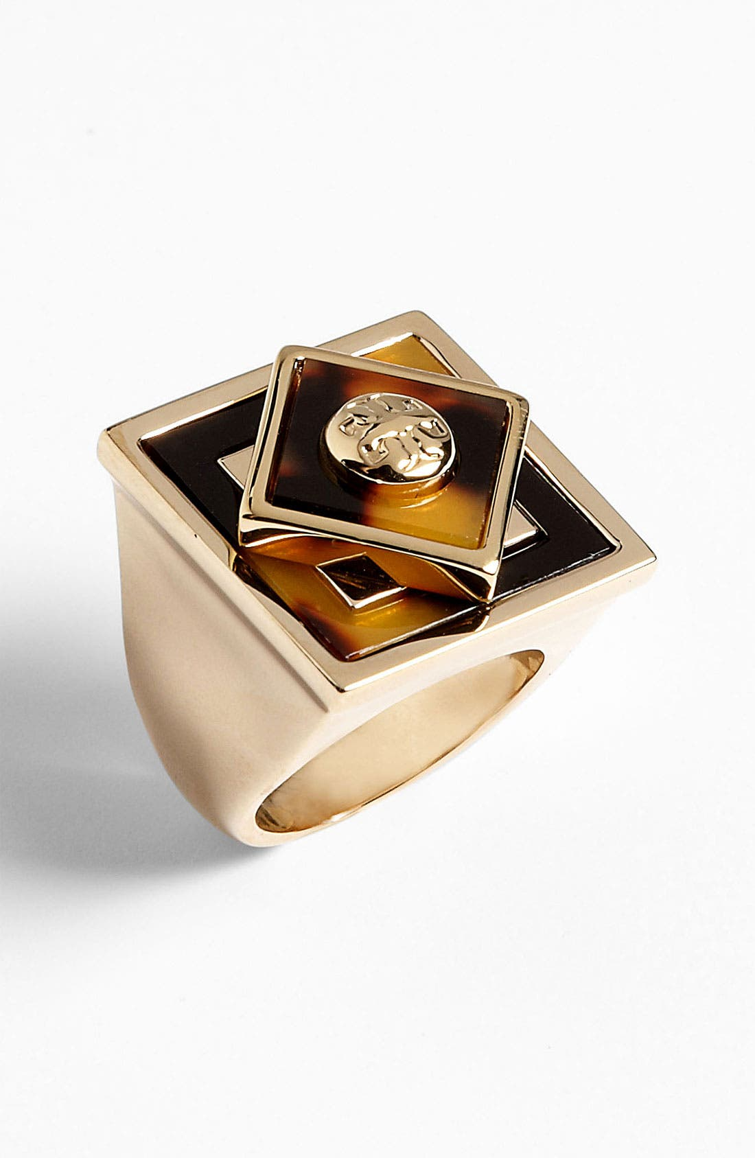 Main Image - Tory Burch 'Liam' Square Ring