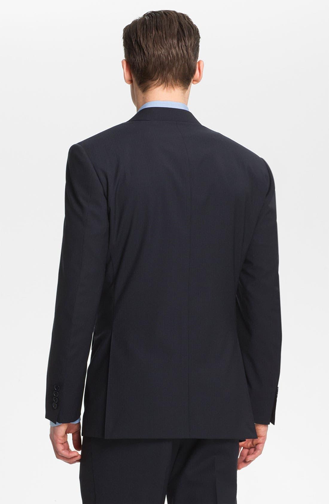 Alternate Image 7  - Canali Stripe Wool Suit