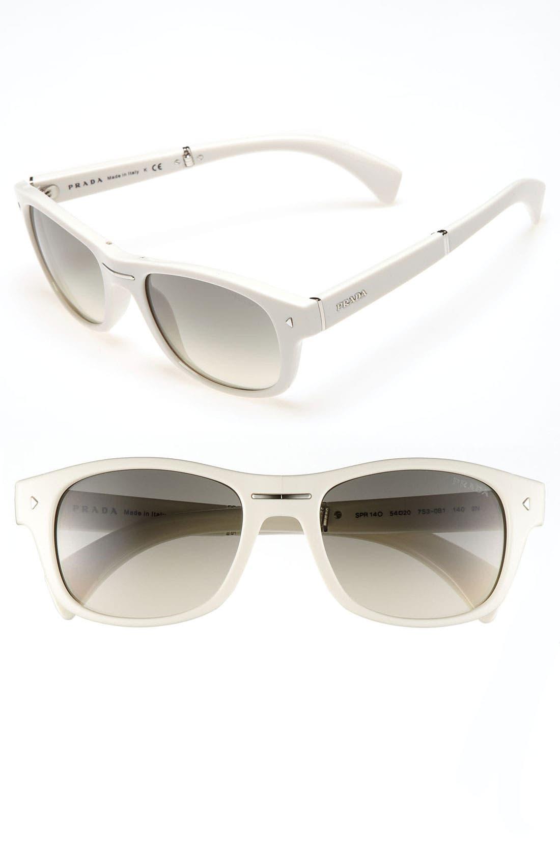 Alternate Image 1 Selected - Prada 54mm Retro Inspired Sunglasses