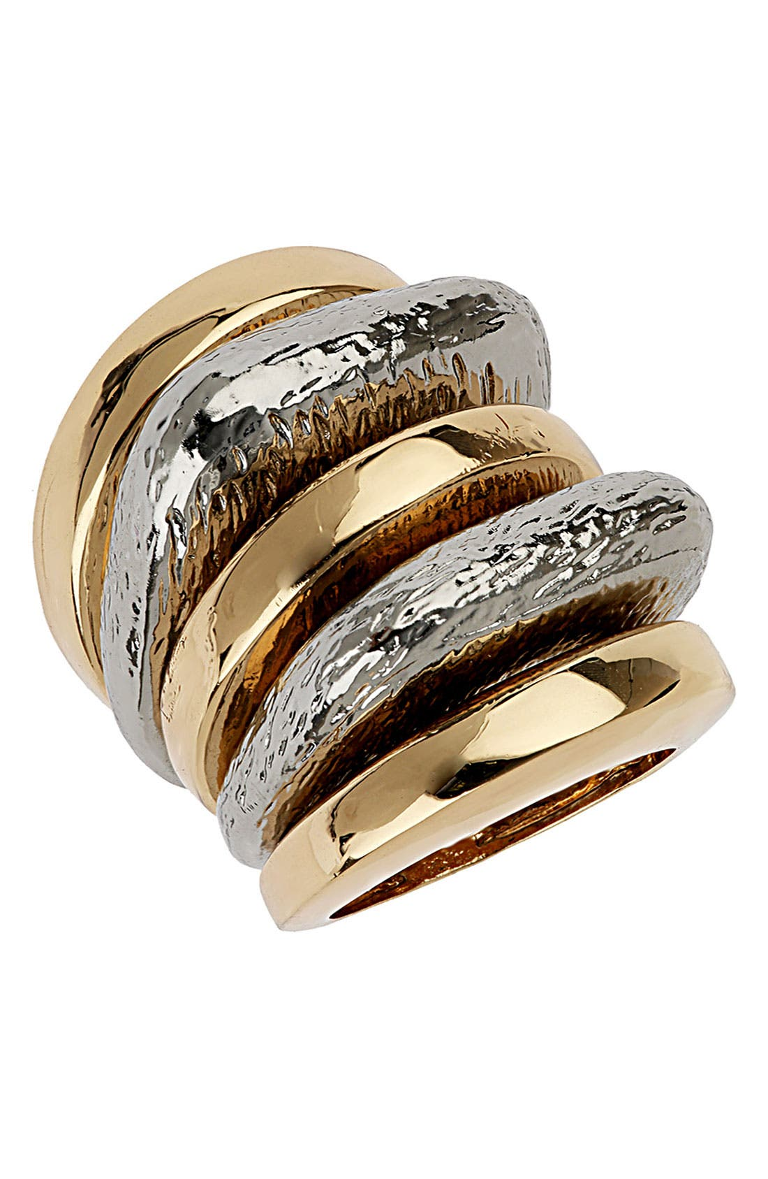 Main Image - Topshop Stackable Rings (Set of 5)