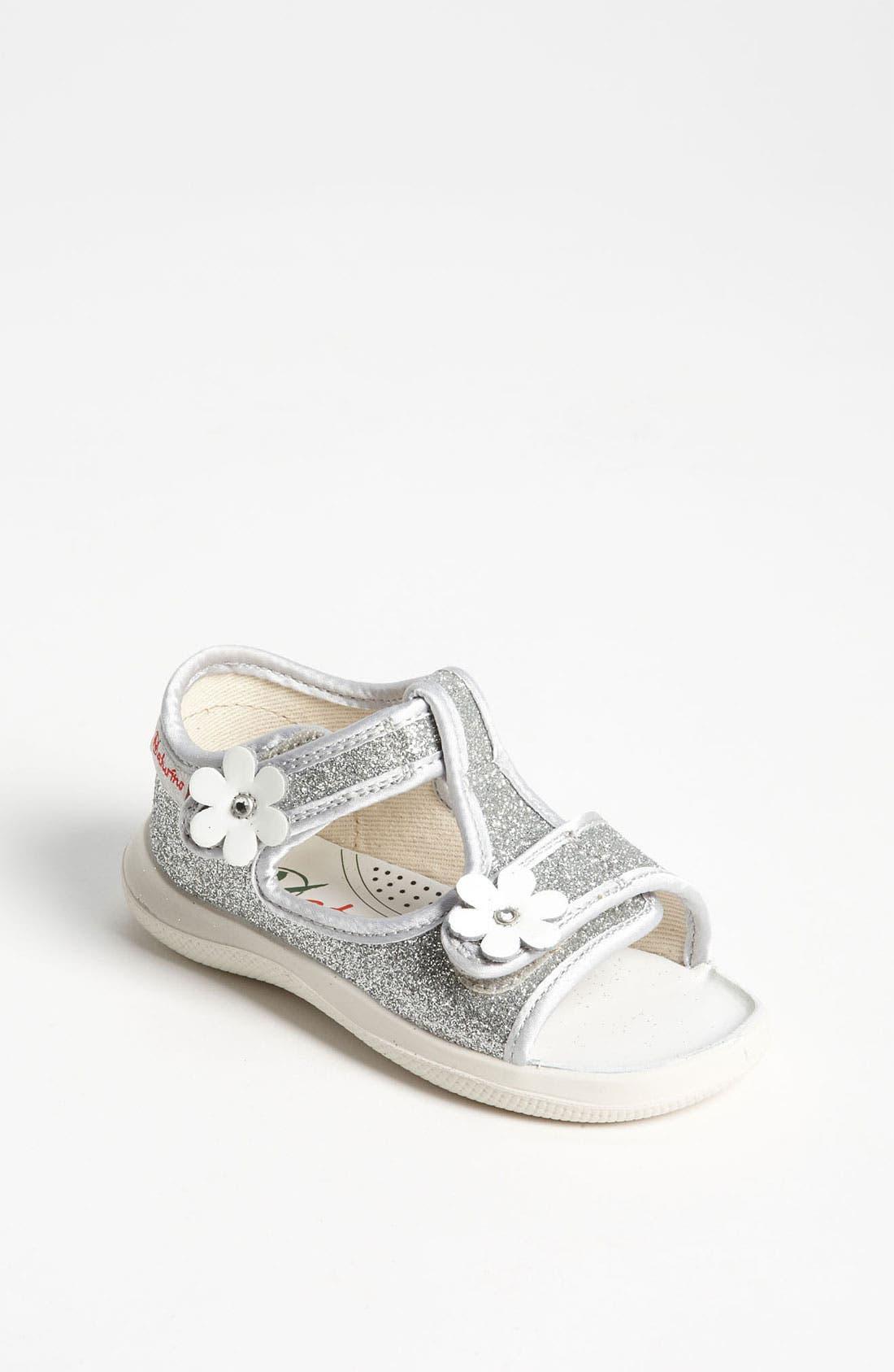 Alternate Image 1 Selected - Naturino '7850' Sandal (Baby & Walker)