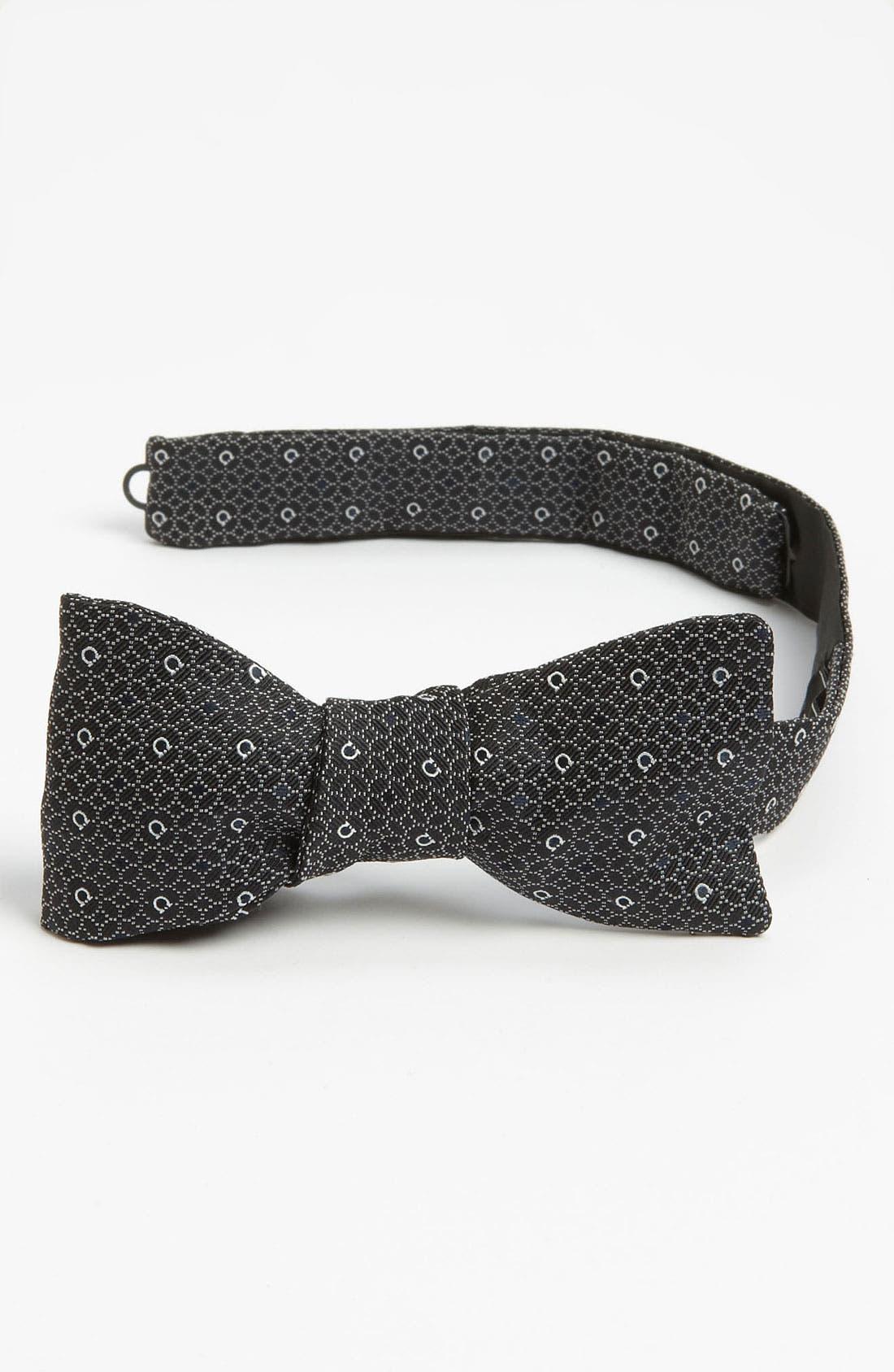 Alternate Image 1 Selected - Salvatore Ferragamo Silk Bow Tie