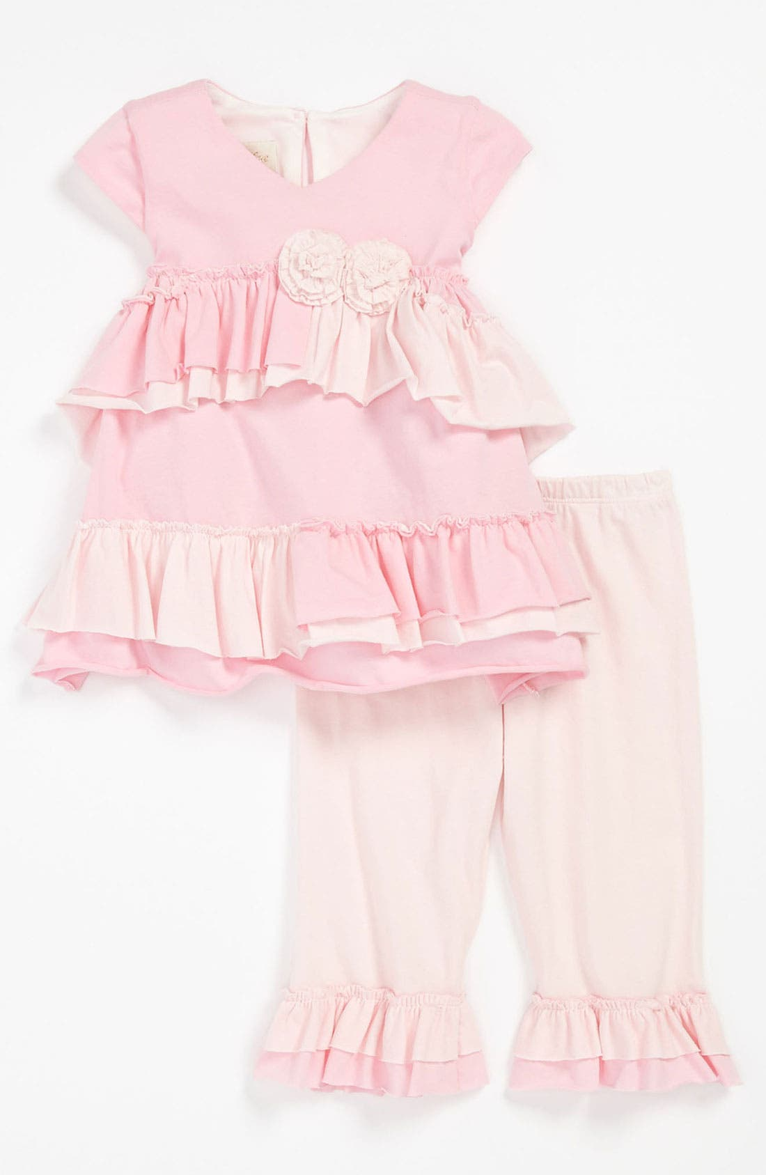 Alternate Image 1 Selected - Isobella & Chloe 'Sugar Cookie' Tunic & Leggings (Baby)