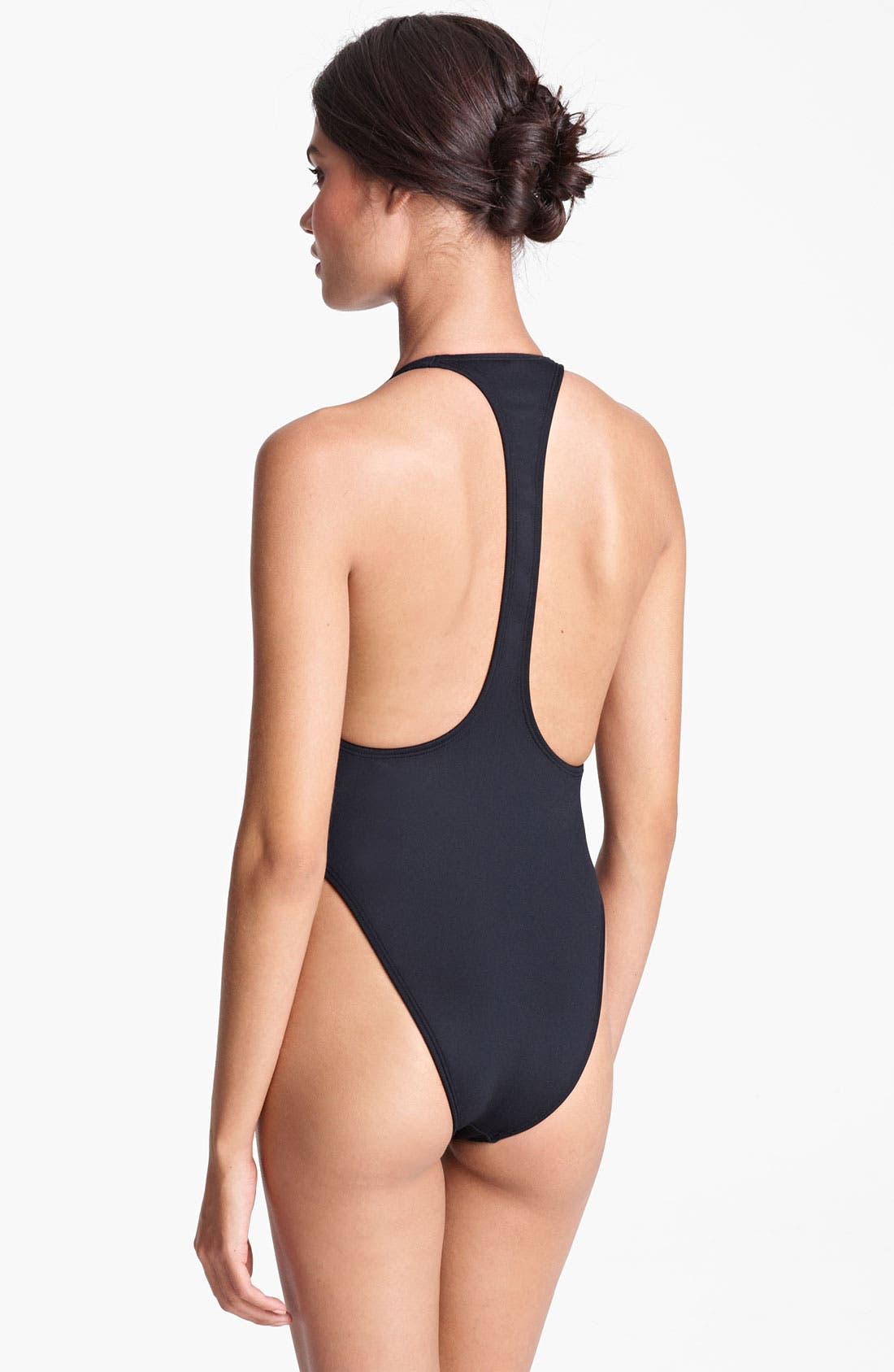 Alternate Image 2  - Lanvin V-Neck Swimsuit