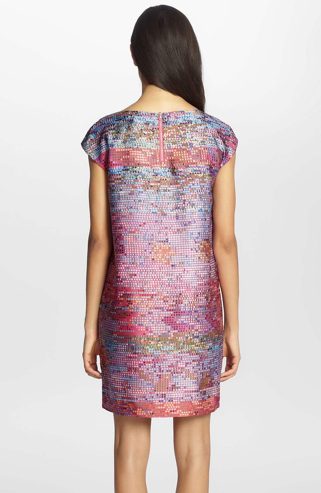 Alternate Image 2  - Cynthia Steffe 'Gina' Print Shift Dress