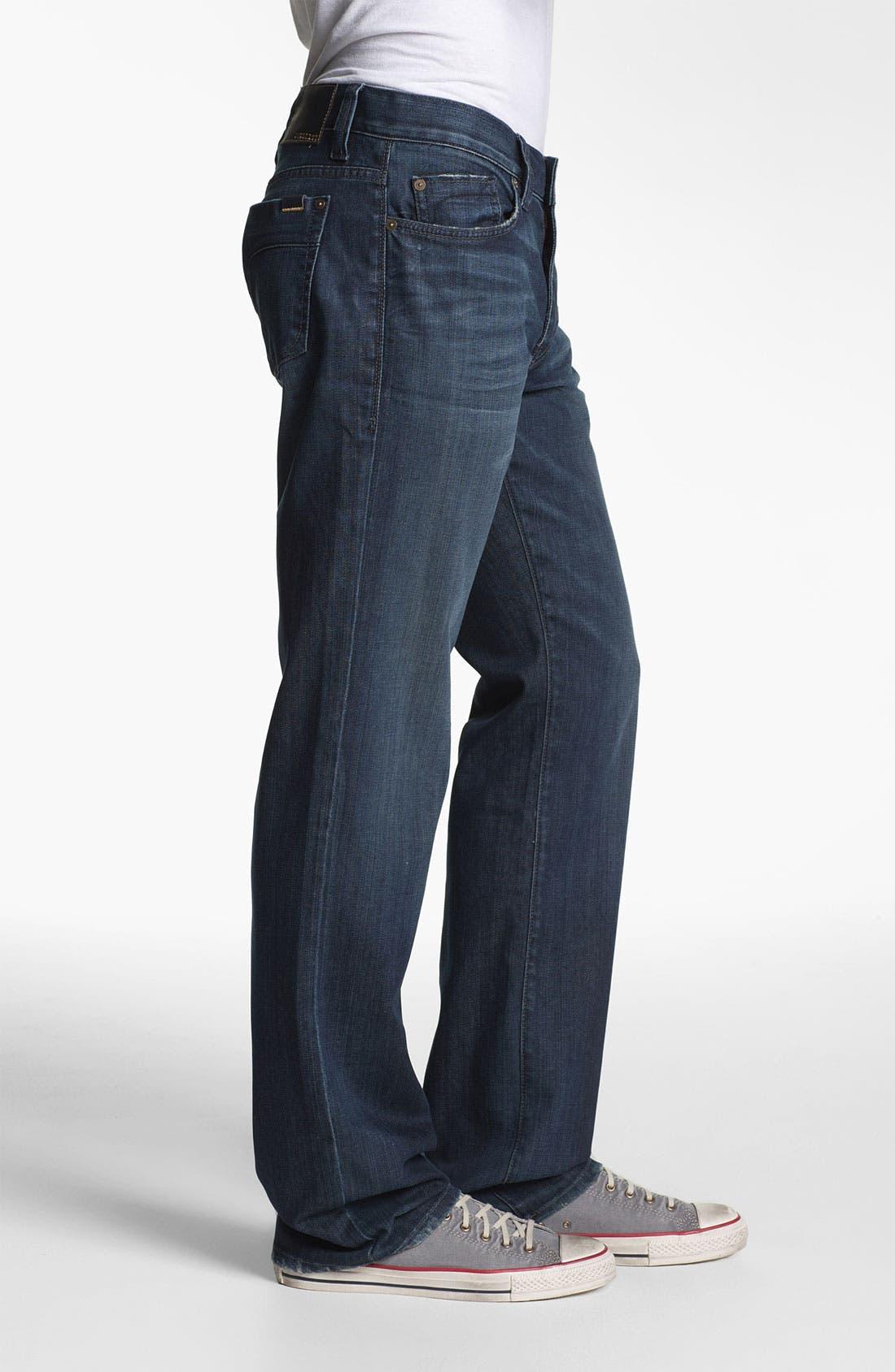 Alternate Image 3  - Fidelity Denim '5011' Straight Leg Jeans (Town Valley Wash)