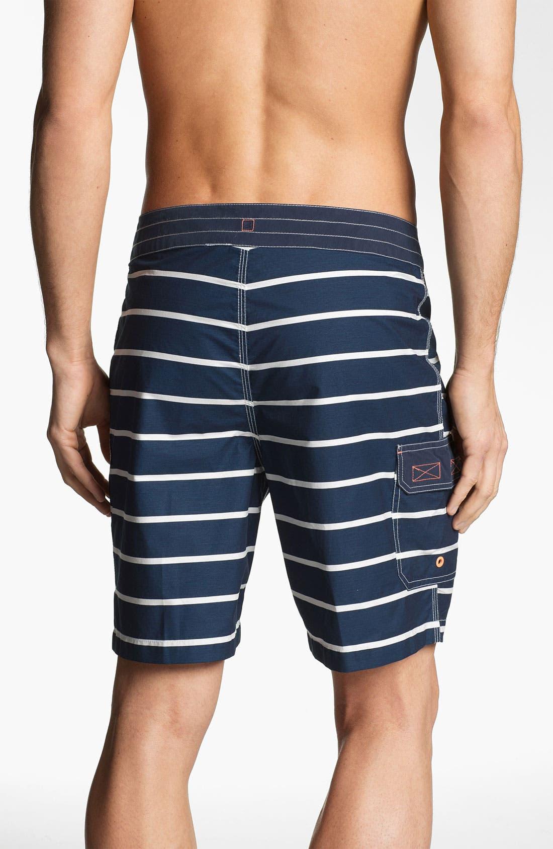 Alternate Image 2  - Sperry Top-Sider® Sailor Stripe Board Shorts