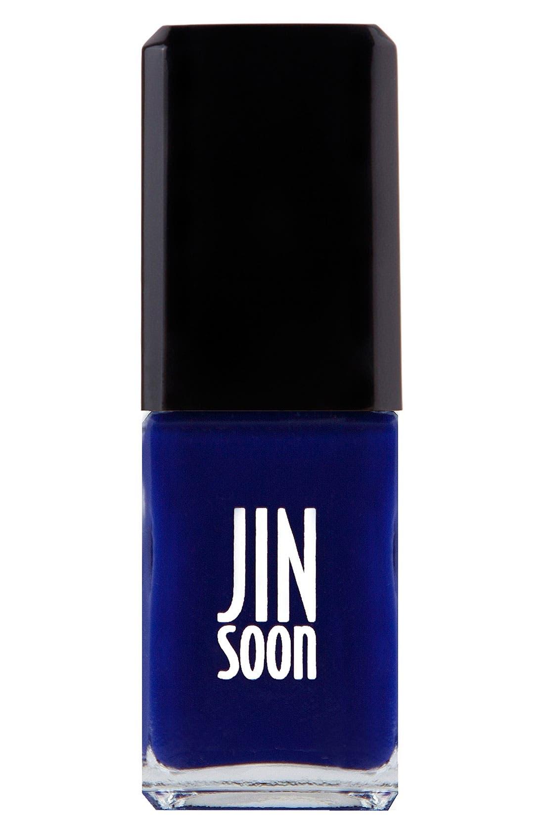 JINsoon 'Blue Iris' Nail Lacquer