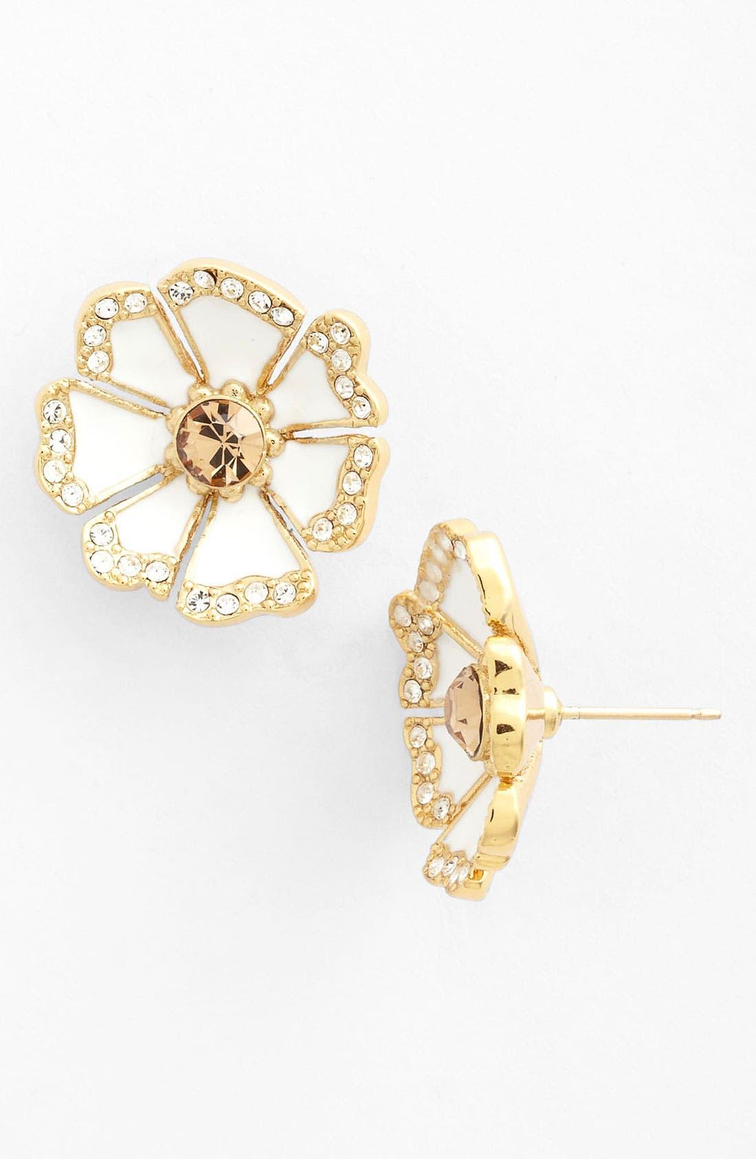 Main Image - kate spade new york 'garden grove' stud earrings