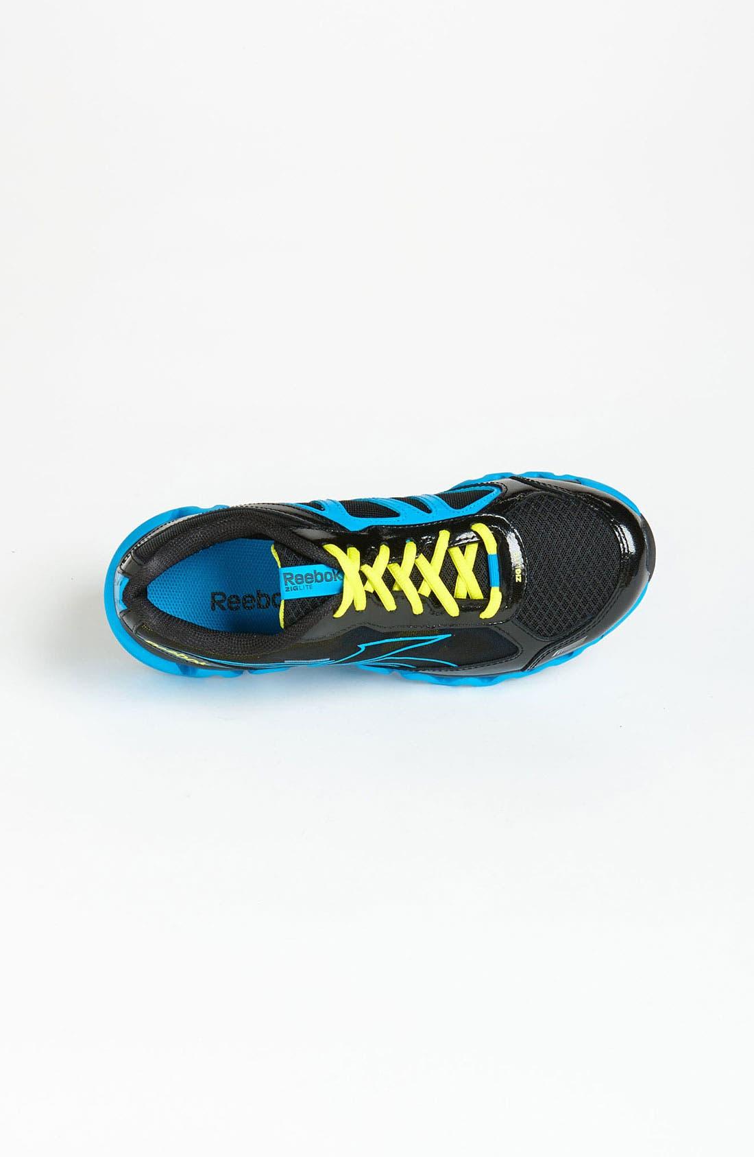 Alternate Image 3  - Reebok 'ZigLite Rush' Sneaker (Big Kid)