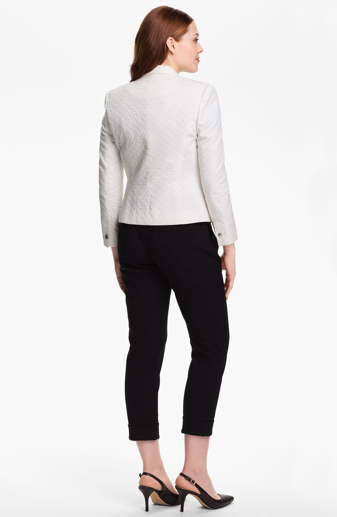 Alternate Image 4  - Vince Camuto Cuff Ankle Pants