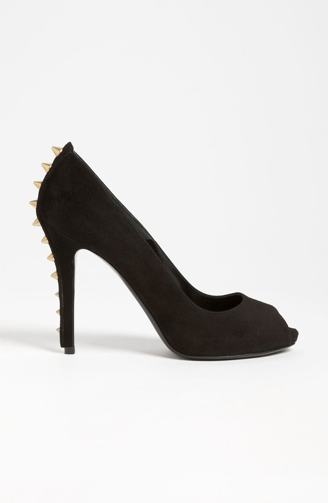 Alternate Image 4  - Alexander McQueen Spike Heel Peep Toe Pump