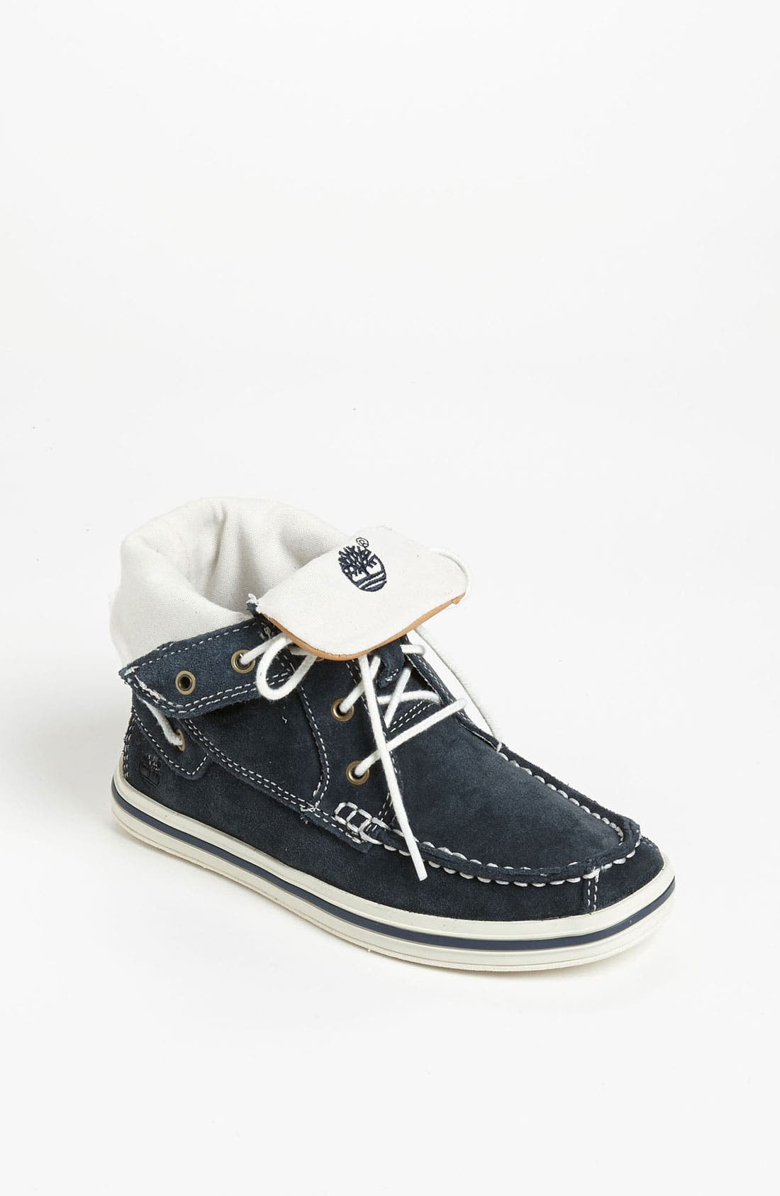 Alternate Image 1 Selected - Timberland 'Earthkeepers® Casco Bay' Roll-Top Chukka (Little Kid & Big Kid)