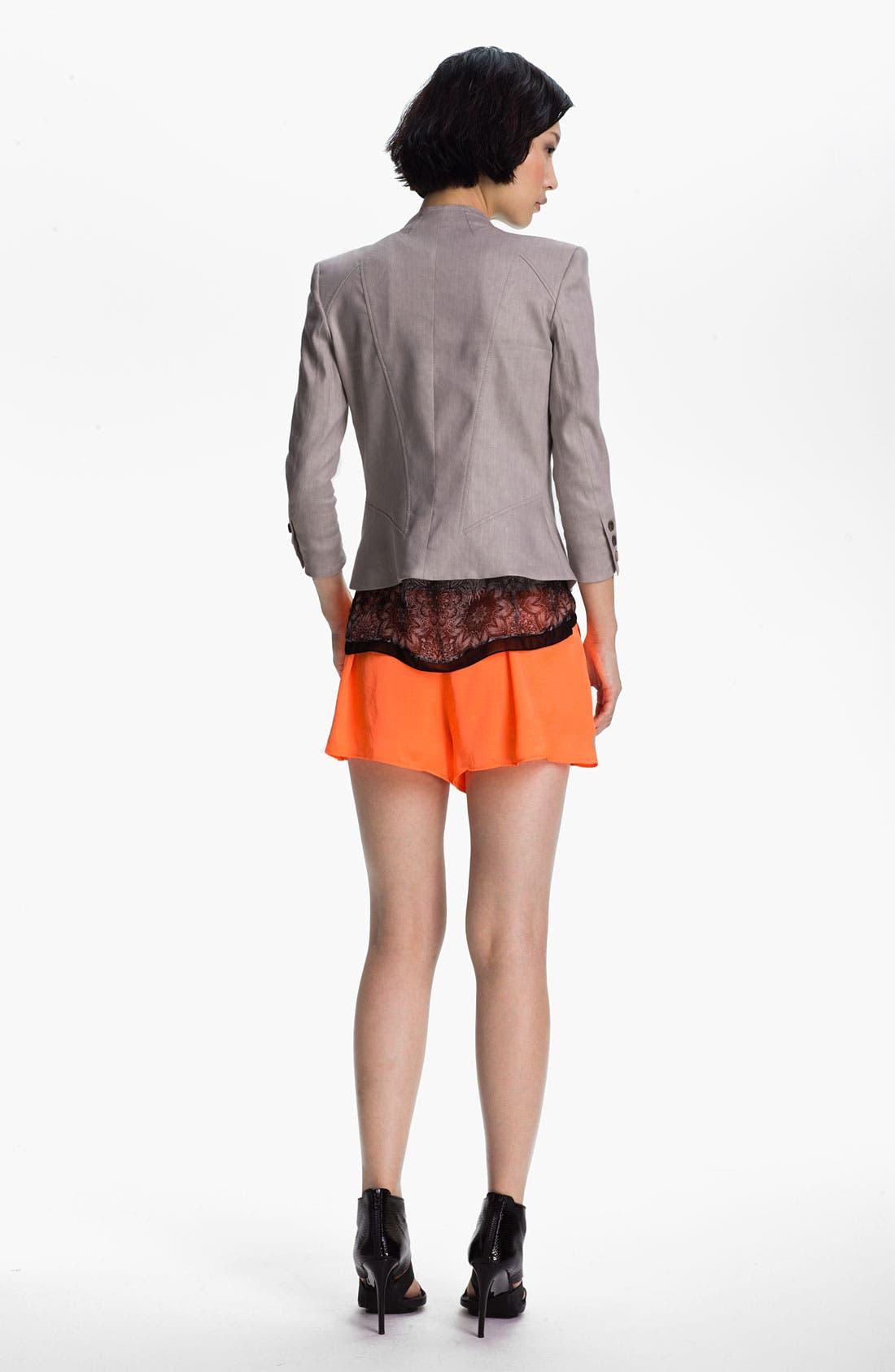 Alternate Image 4  - Helmut Lang 'Glossy' Linen Twill Blazer