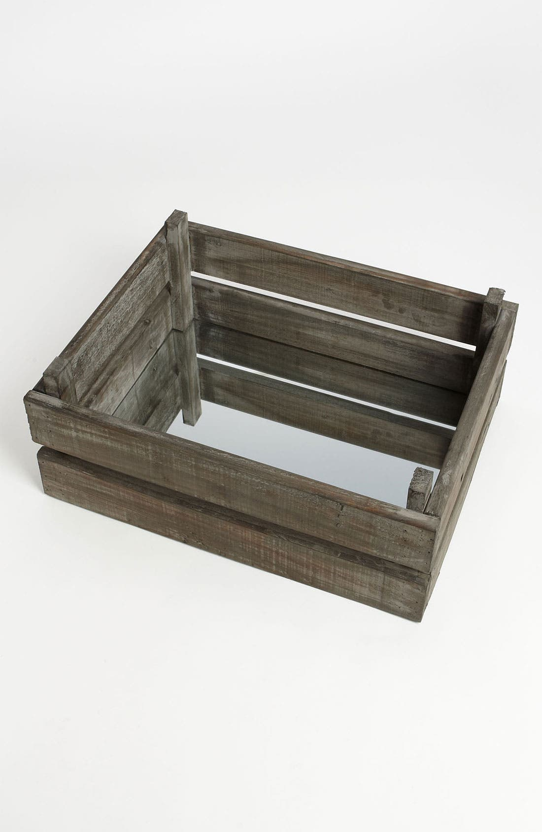 Alternate Image 2  - Wooden Crate with Mirror