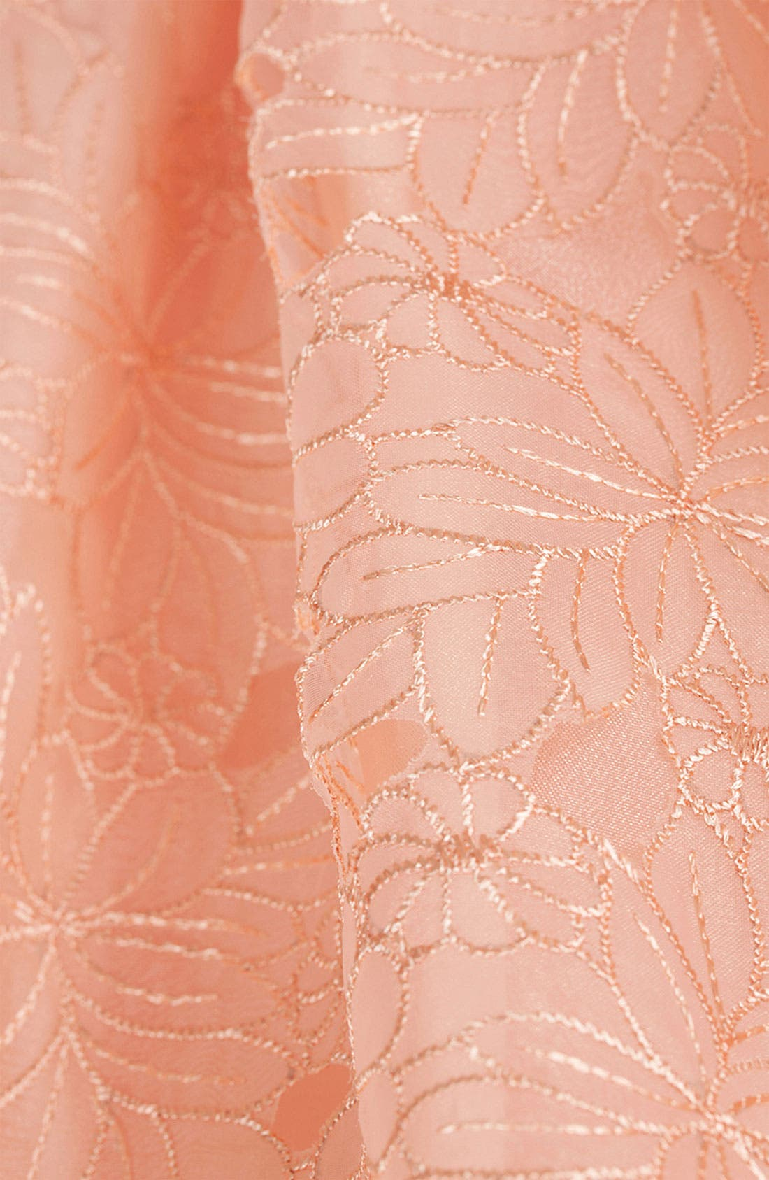 Alternate Image 3  - Topshop Floral Organza Party Dress