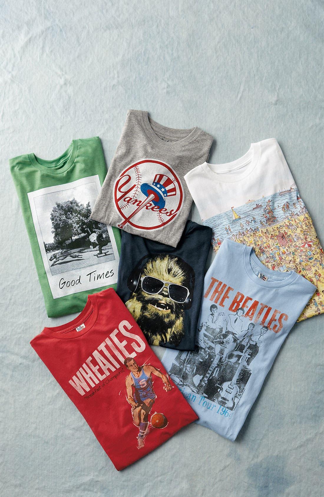 Alternate Image 2  - Junk Food 'Wheaties' T-Shirt (Little Boys & Big Boys)